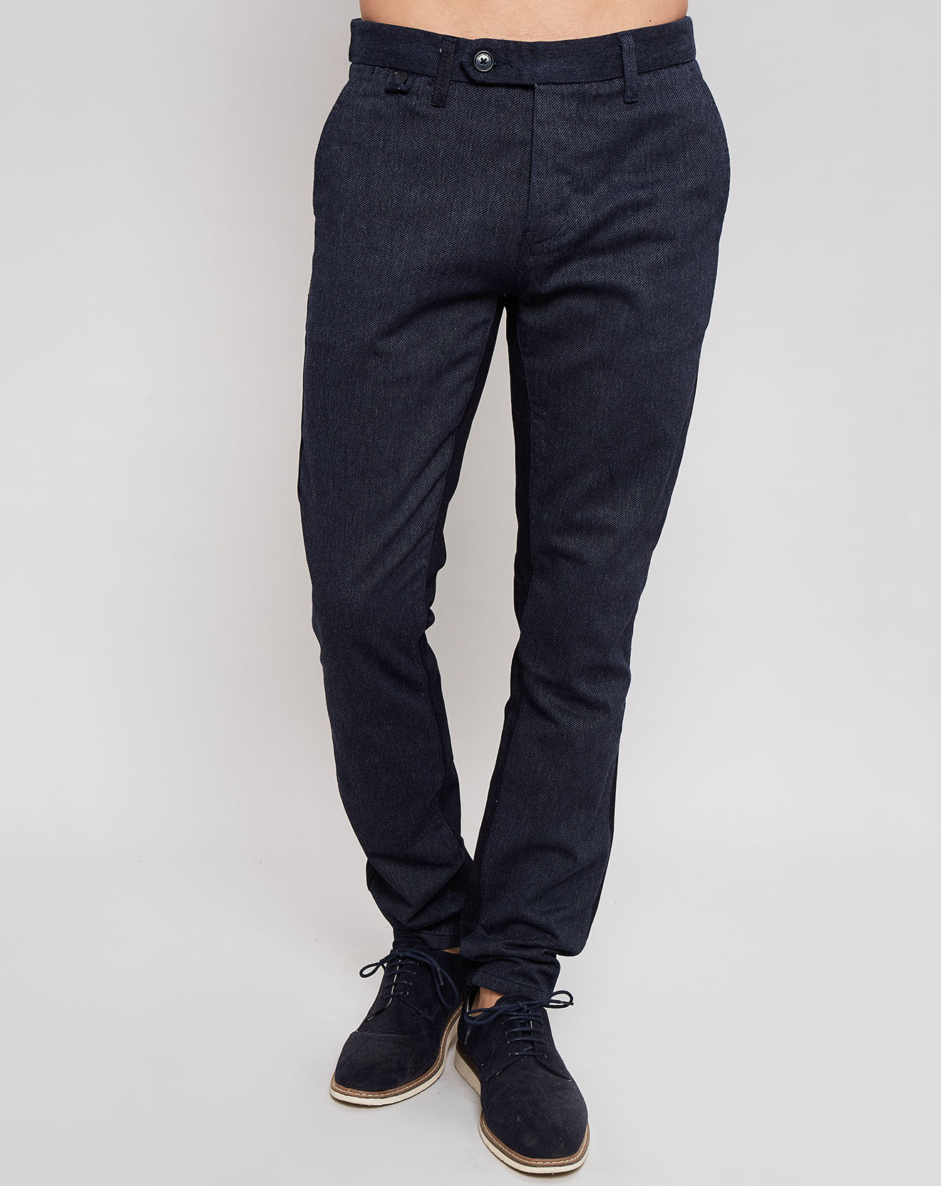 Pantalon chino Sloane Denim Mix bleu - Pepe Jeans - Modalova