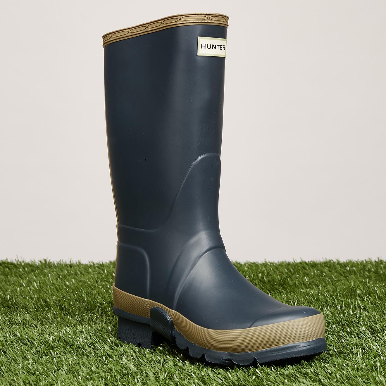 Bottes Gardener marine/kaki - Hunter - Modalova