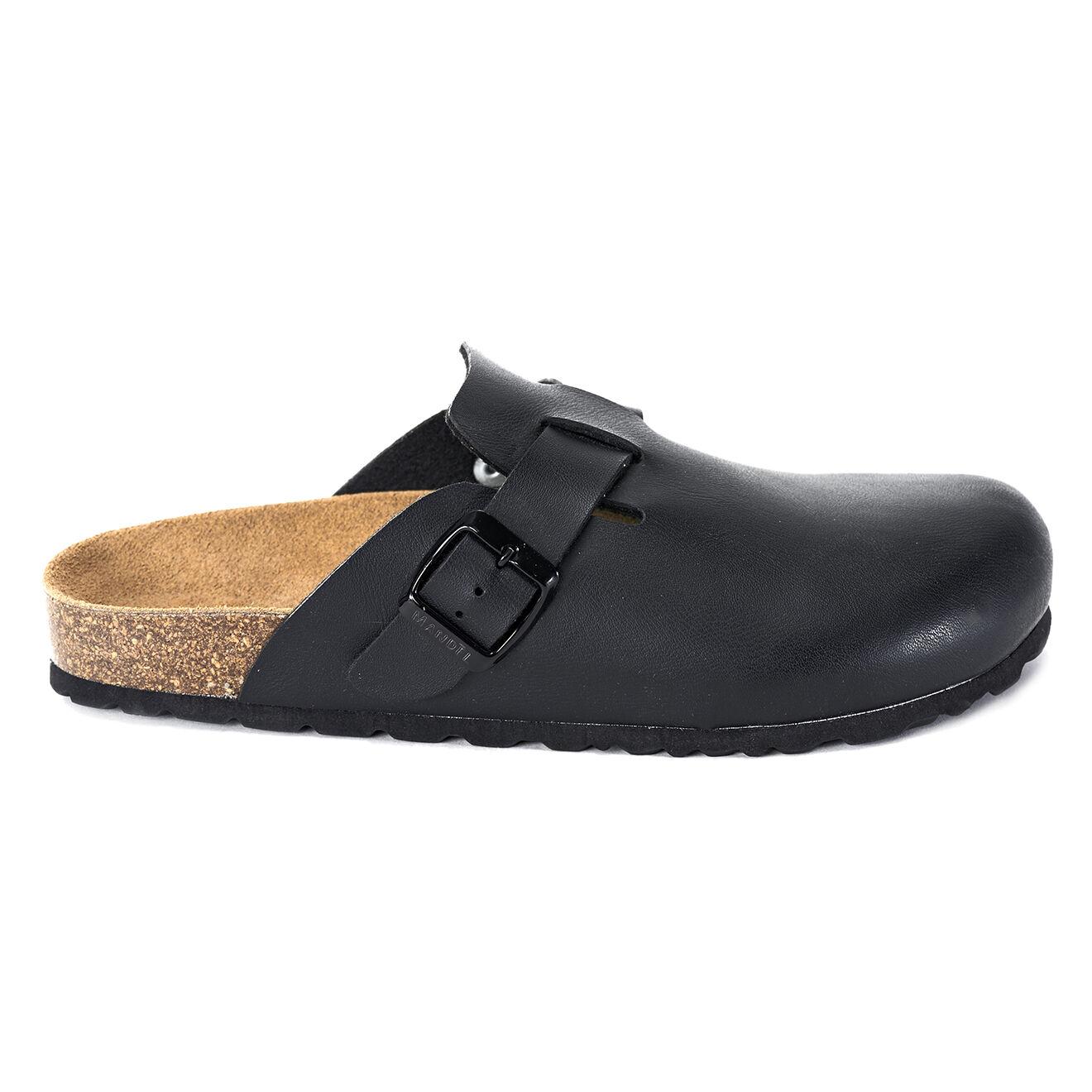 Sabots en Eco cuir Noe noirs - Mandèl - Modalova