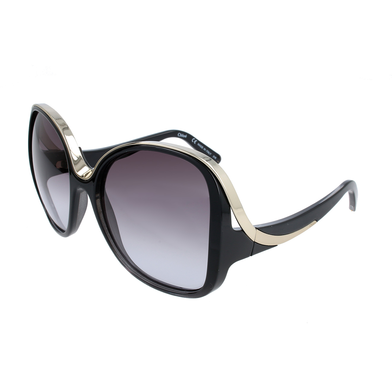 Chloé-femme-lunettes de soleil femme noir...