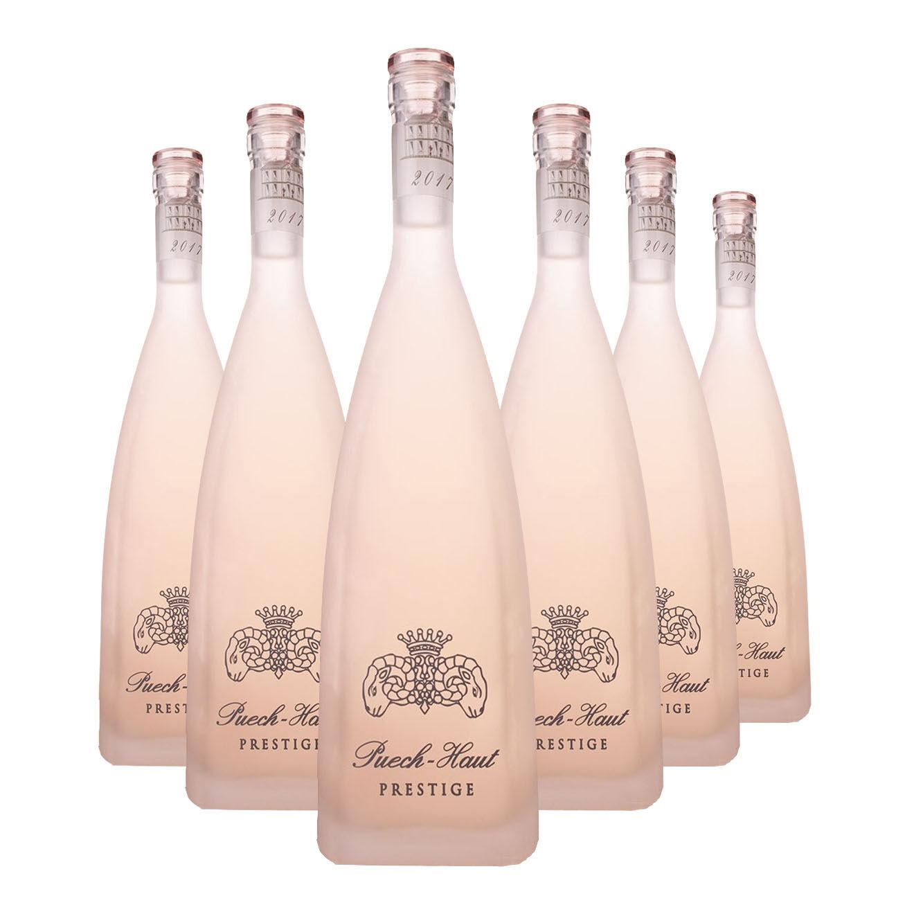 6 Côteaux-du-Languedoc Prestige 2017 Ch. Puech-Haut 75cl