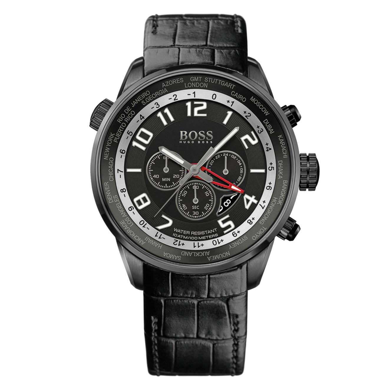Montre en Acier chronographe Boss Black - Hugo Boss - Modalova