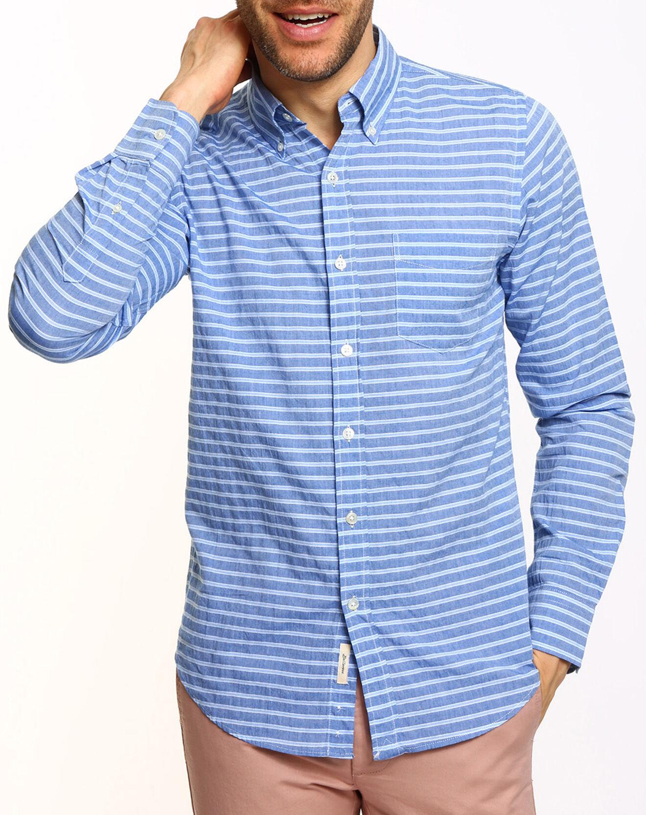 Chemise Mire rayée bleue