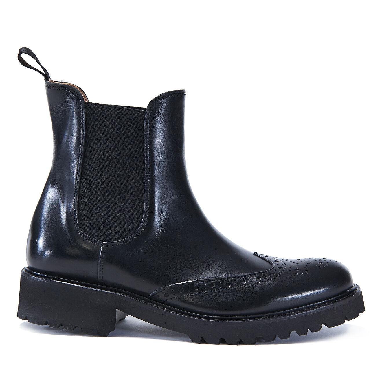 Chelsea Boots en Cuir Elise noires