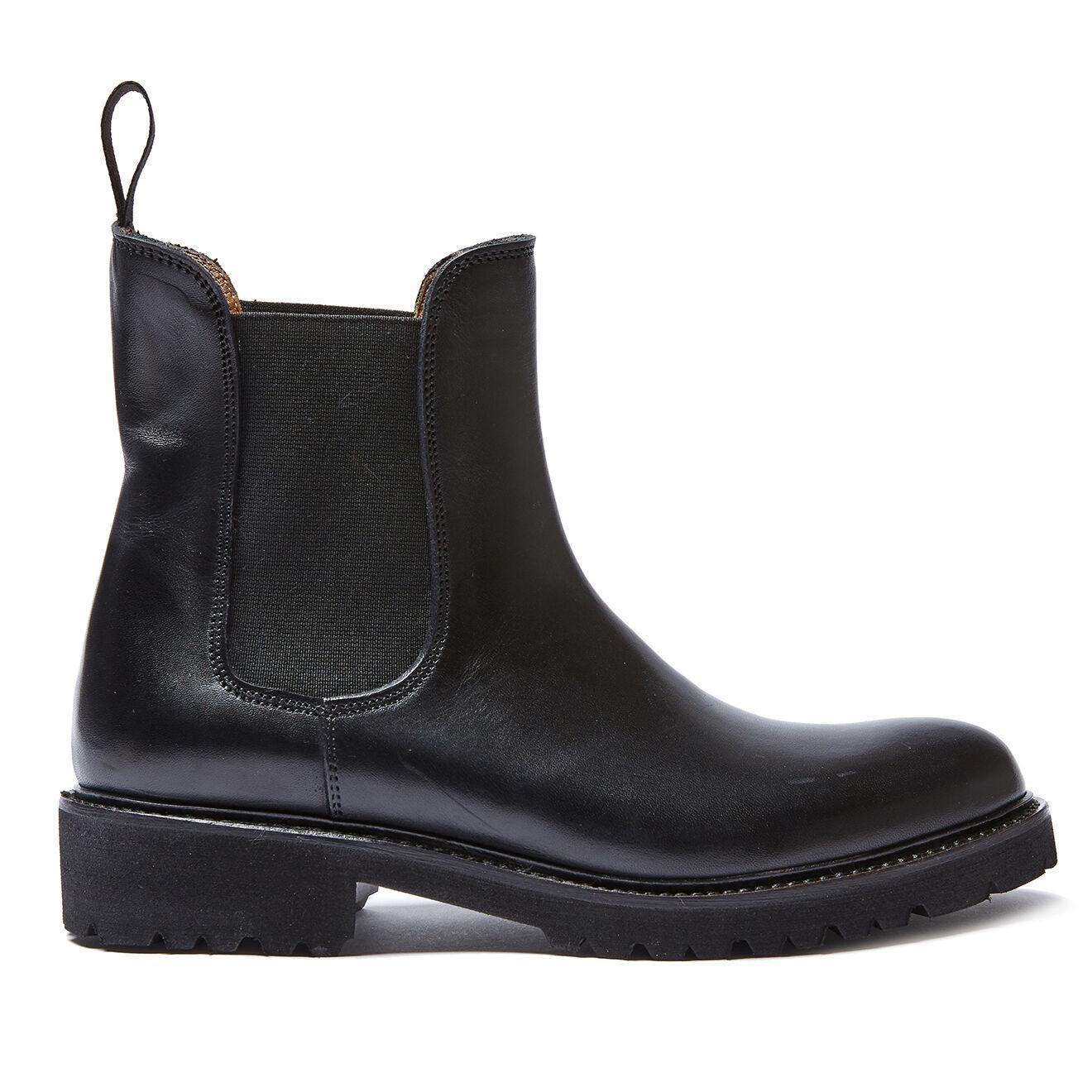 Chelsea Boots en Cuir Louise noires