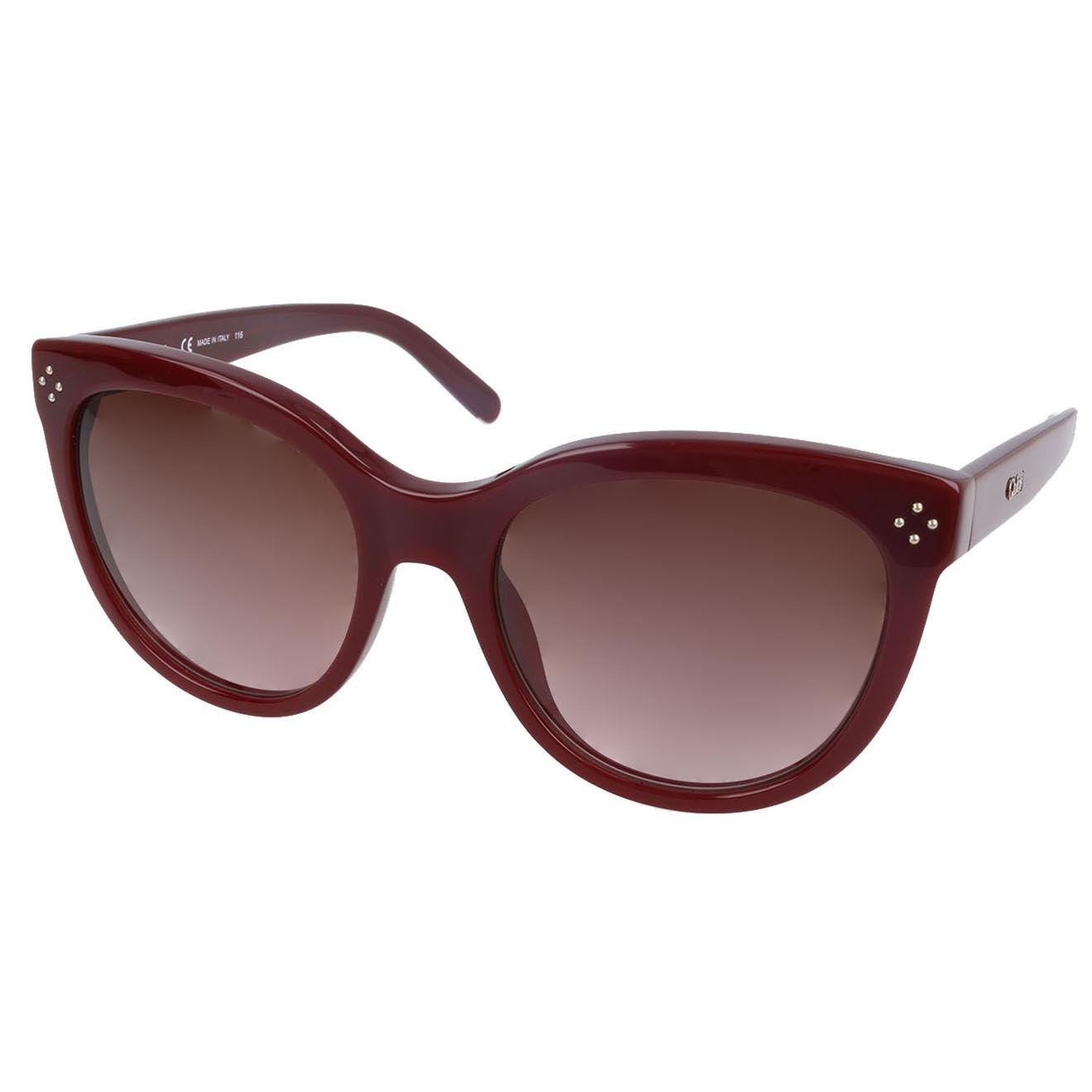 Chloé-femme-lunettes de soleil femme bordeaux-t.u