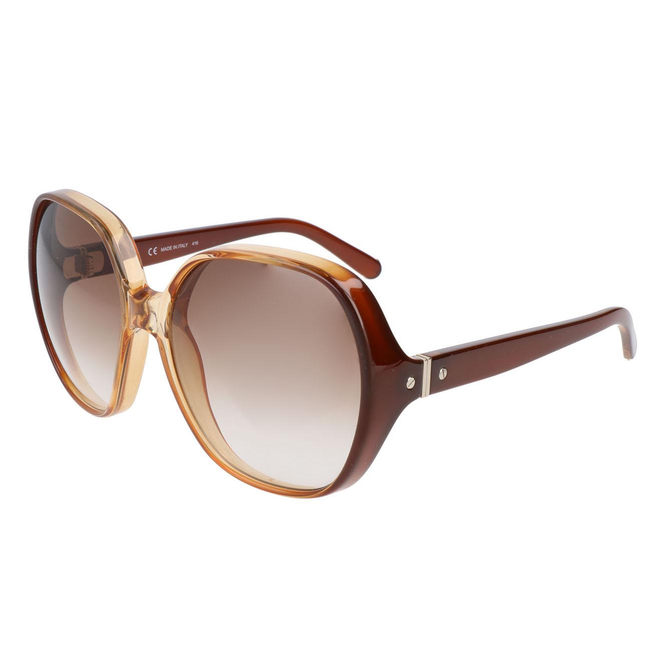 Chloé-femme-lunettes de soleil femme caramel-t.u