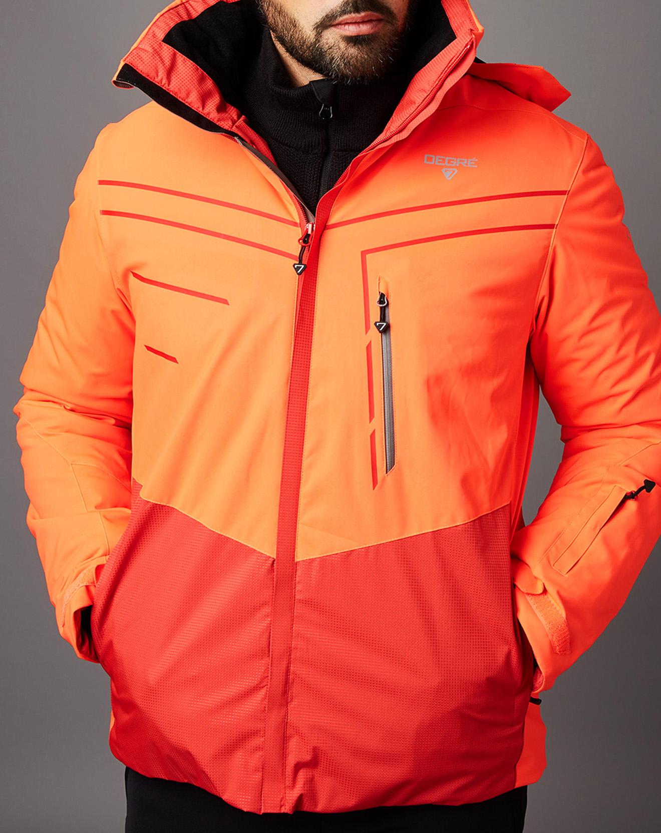 Veste de Ski Morond orange fluo