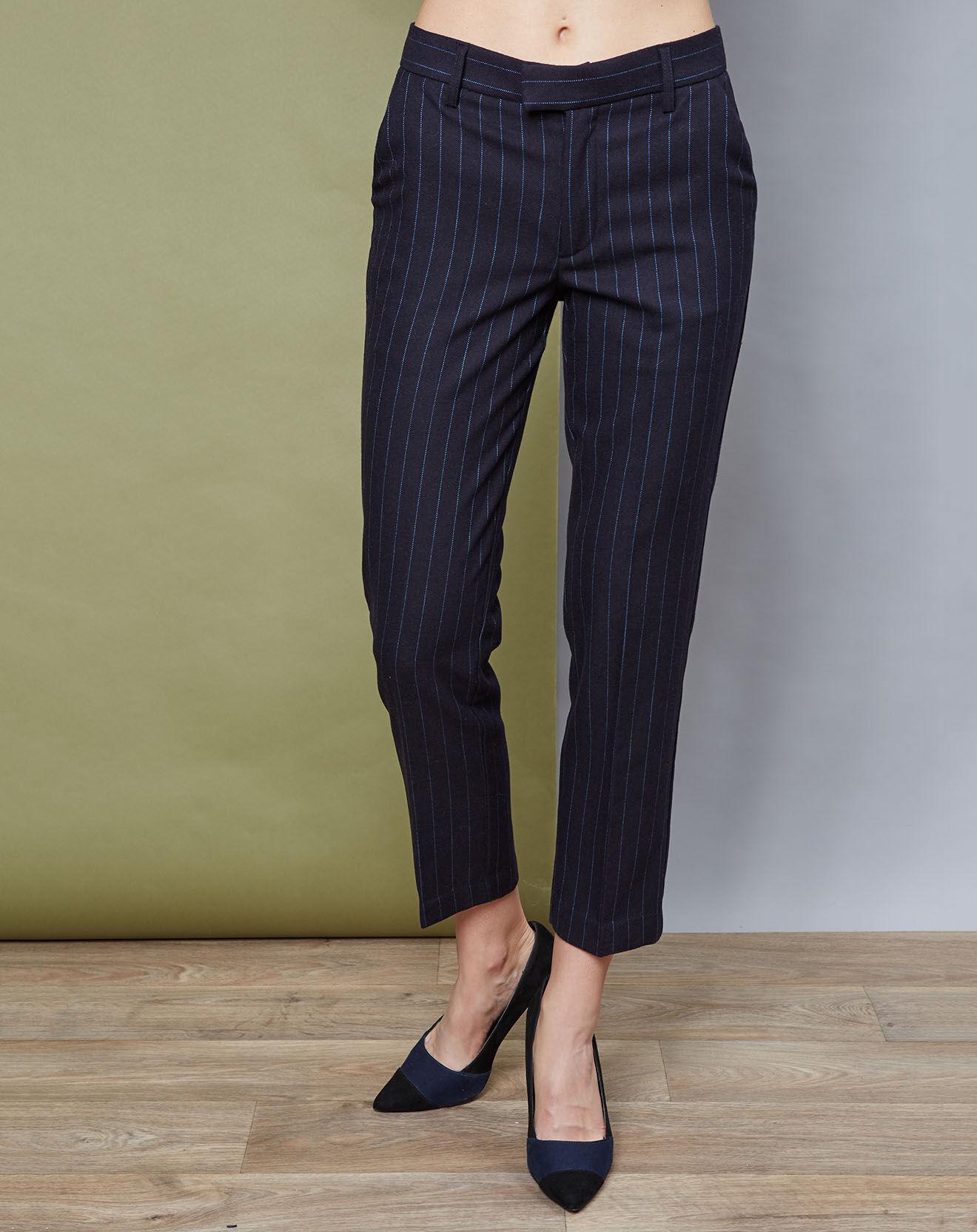 Pantalon Vincent marine