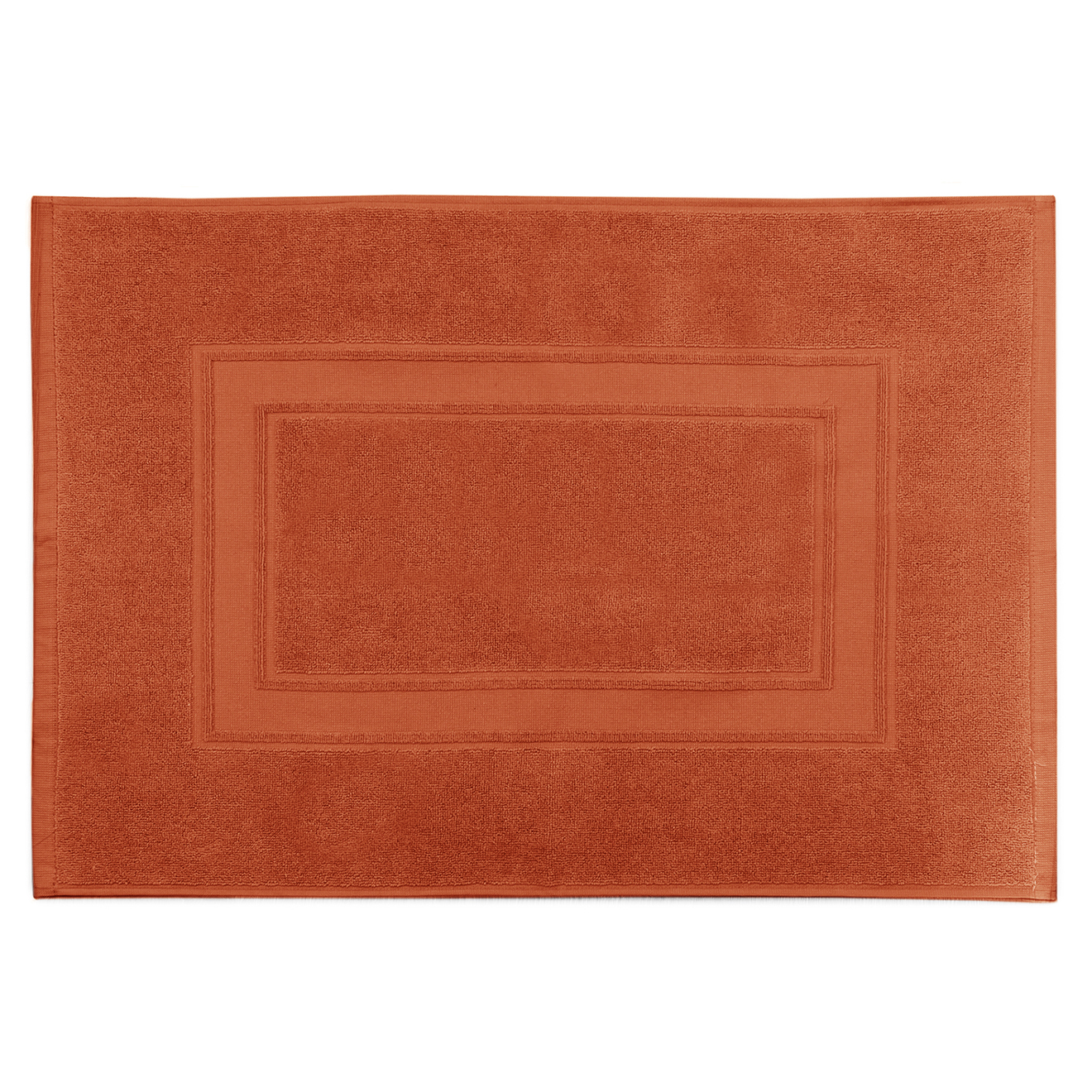 Tapis de bain Elisa mandarine - 50x70 cm