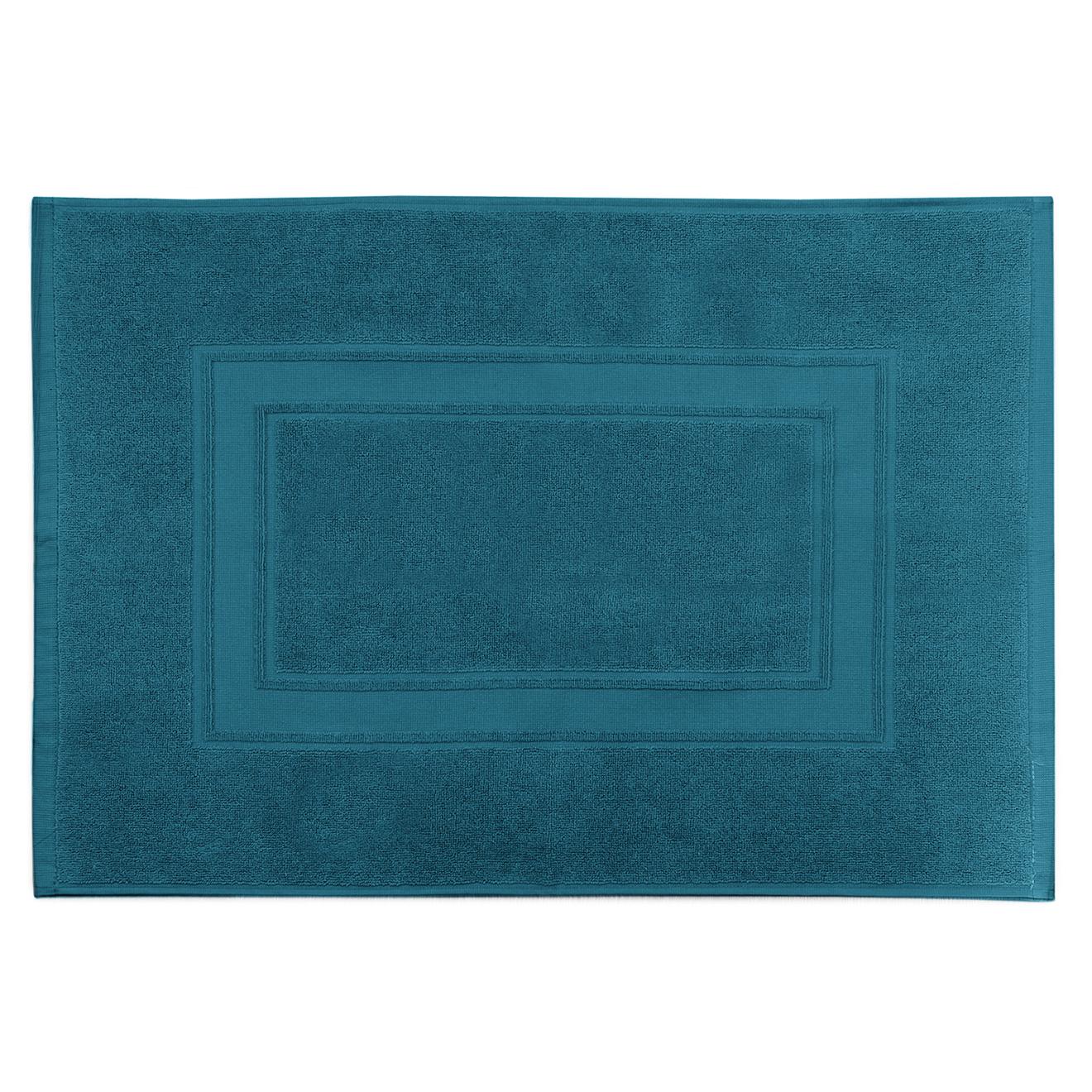 Tapis de bain Elisa turquoise - 50x70 cm