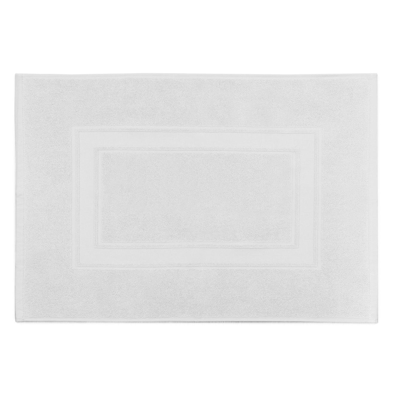 Tapis de bain Elisa blanc - 50x70 cm