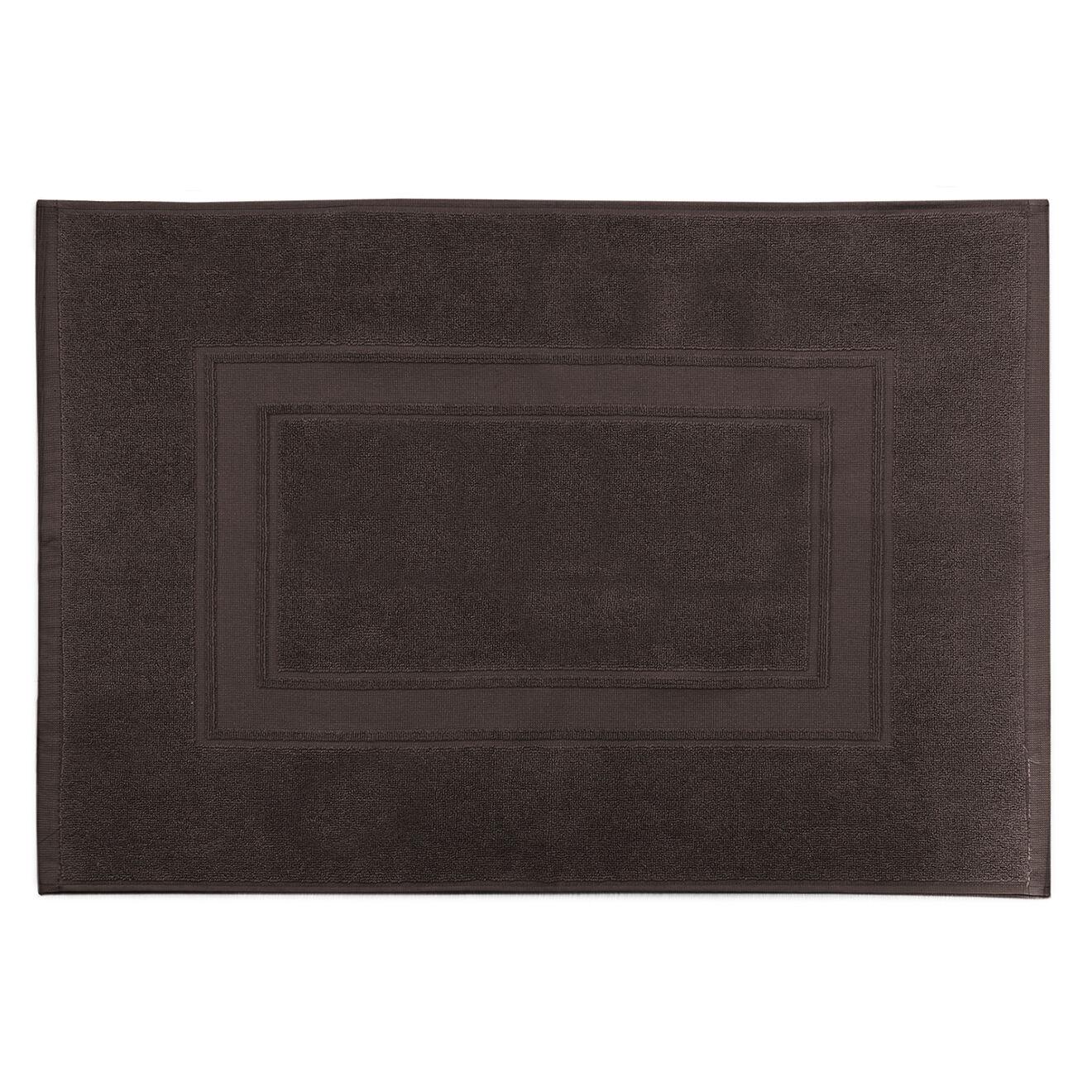 Tapis de bain Elisa chocolat - 50x70 cm