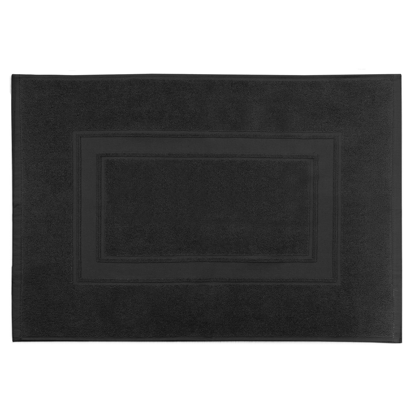 Tapis de bain Elisa noir - 50x70 cm