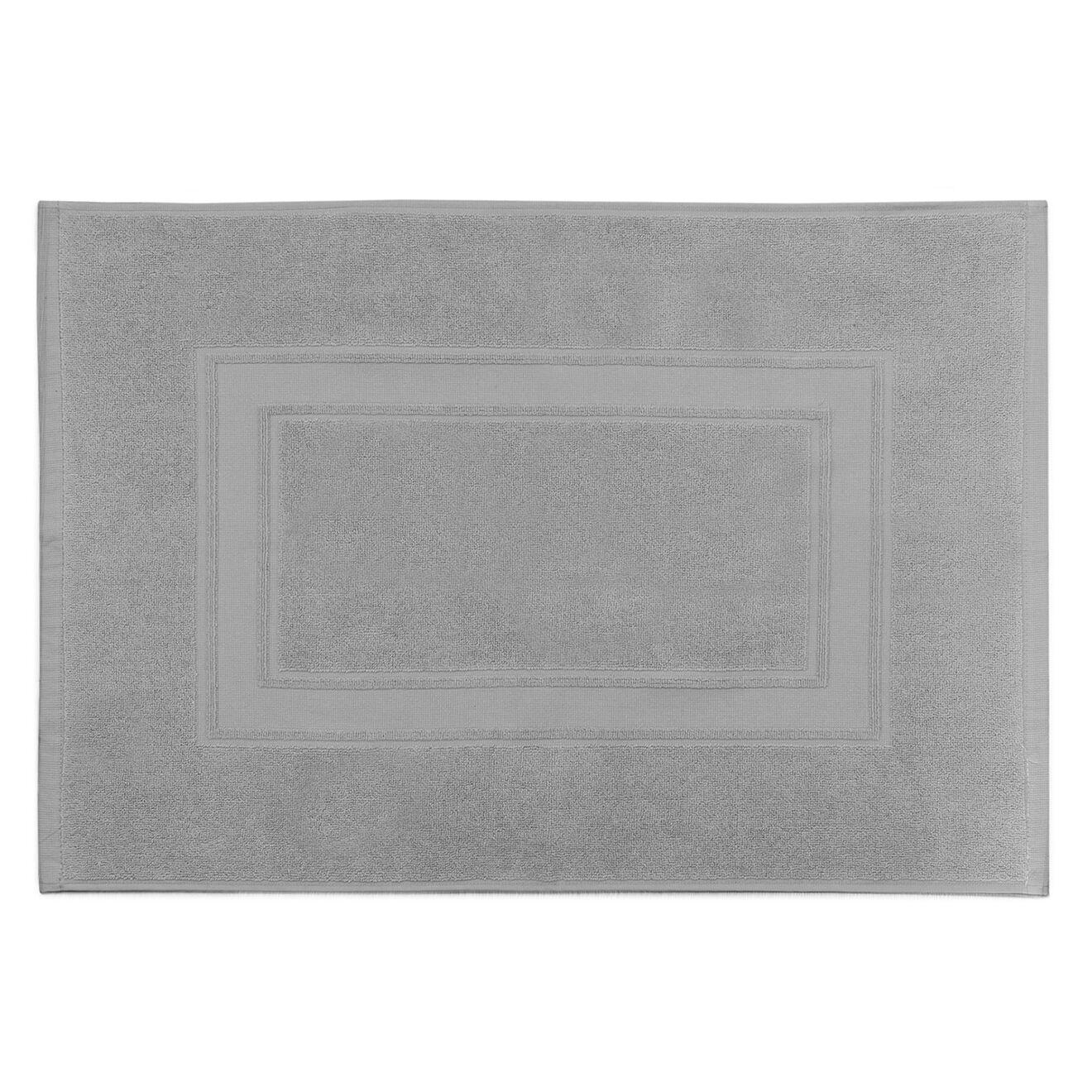 Tapis de bain Elisa argenté - 50x70 cm