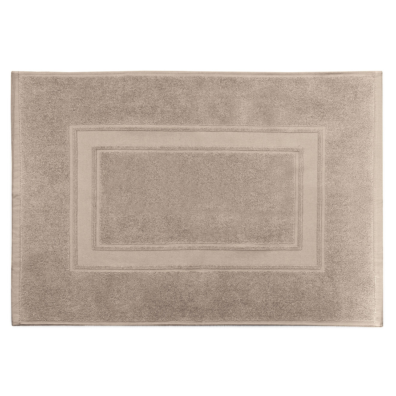 Tapis de bain Elisa taupe - 50x70 cm