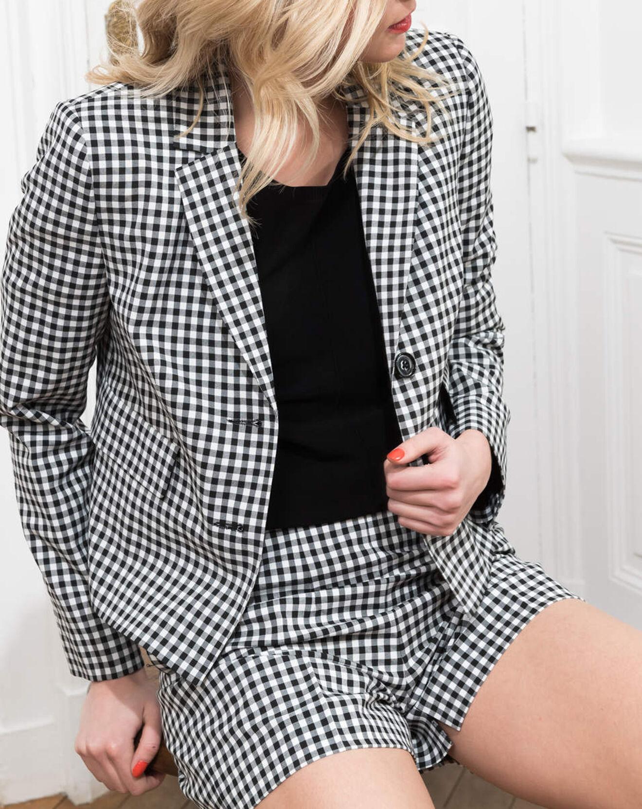 Blazer Christy noir/blanc - Caroll - Modalova