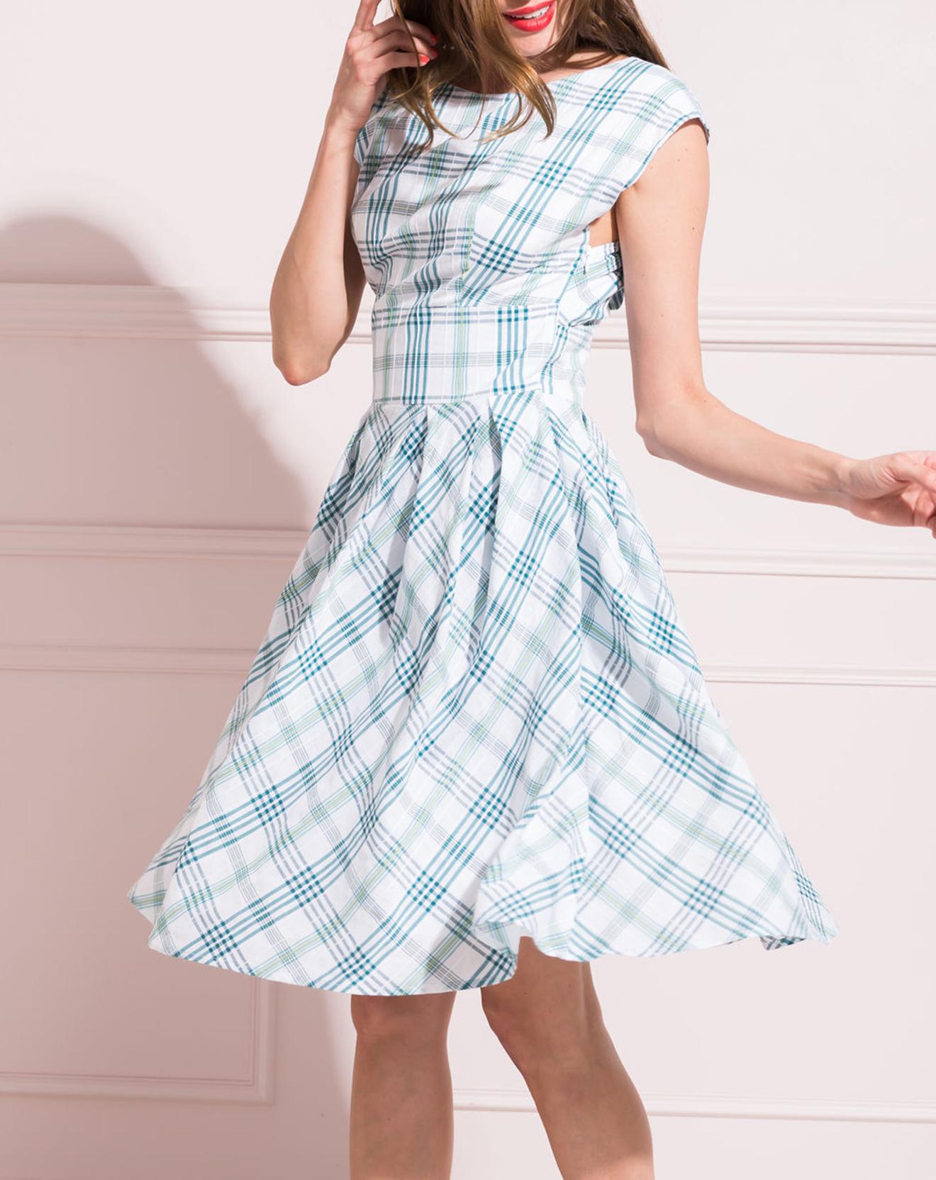 Robe Megane bleue - Caroll - Modalova