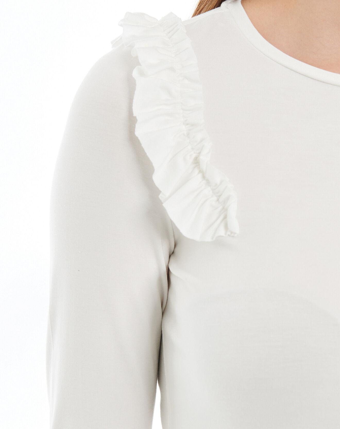T-Shirt à volants aux épaules - Esprit - Modalova