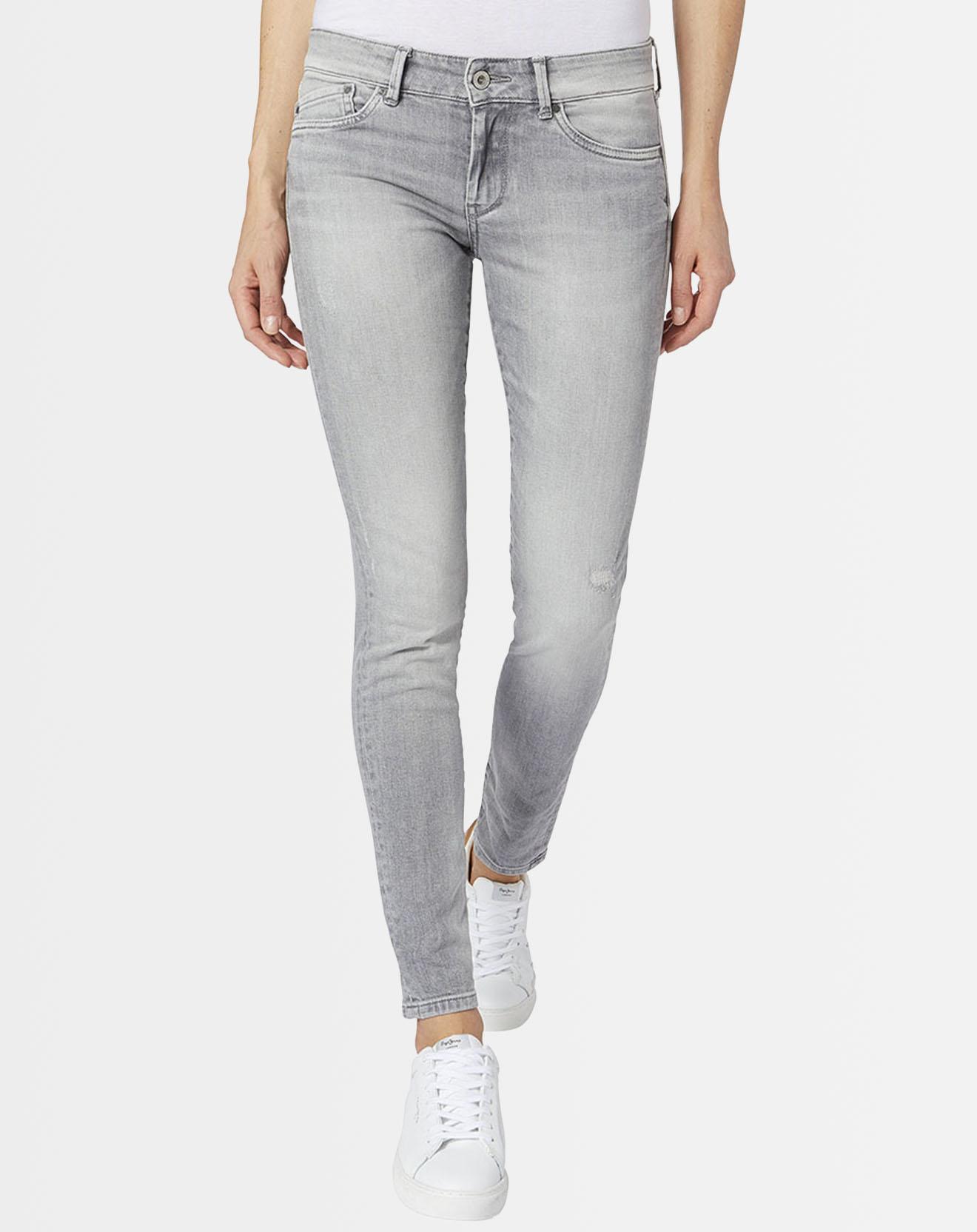 Jean skinny Pixie gris - Pepe Jeans - Modalova