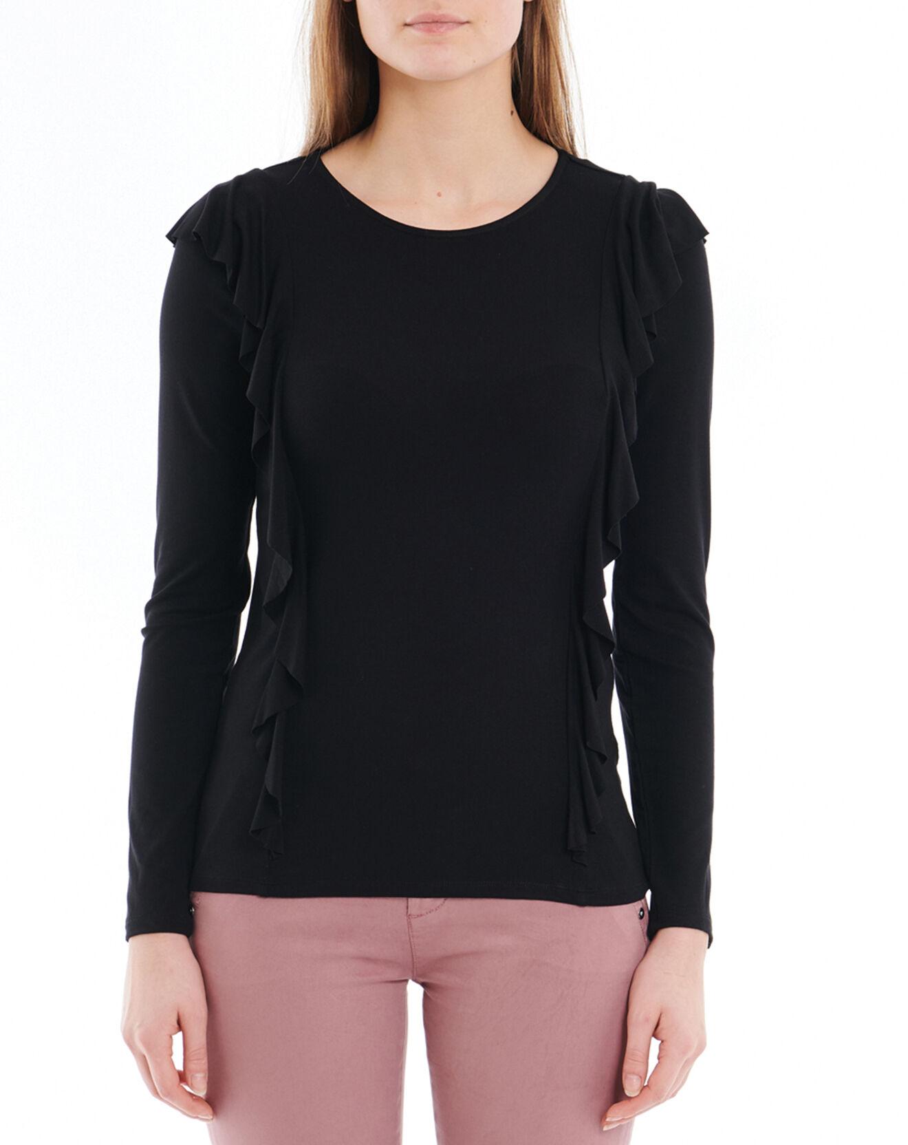 T-Shirt près du corps à volants - Esprit - Modalova