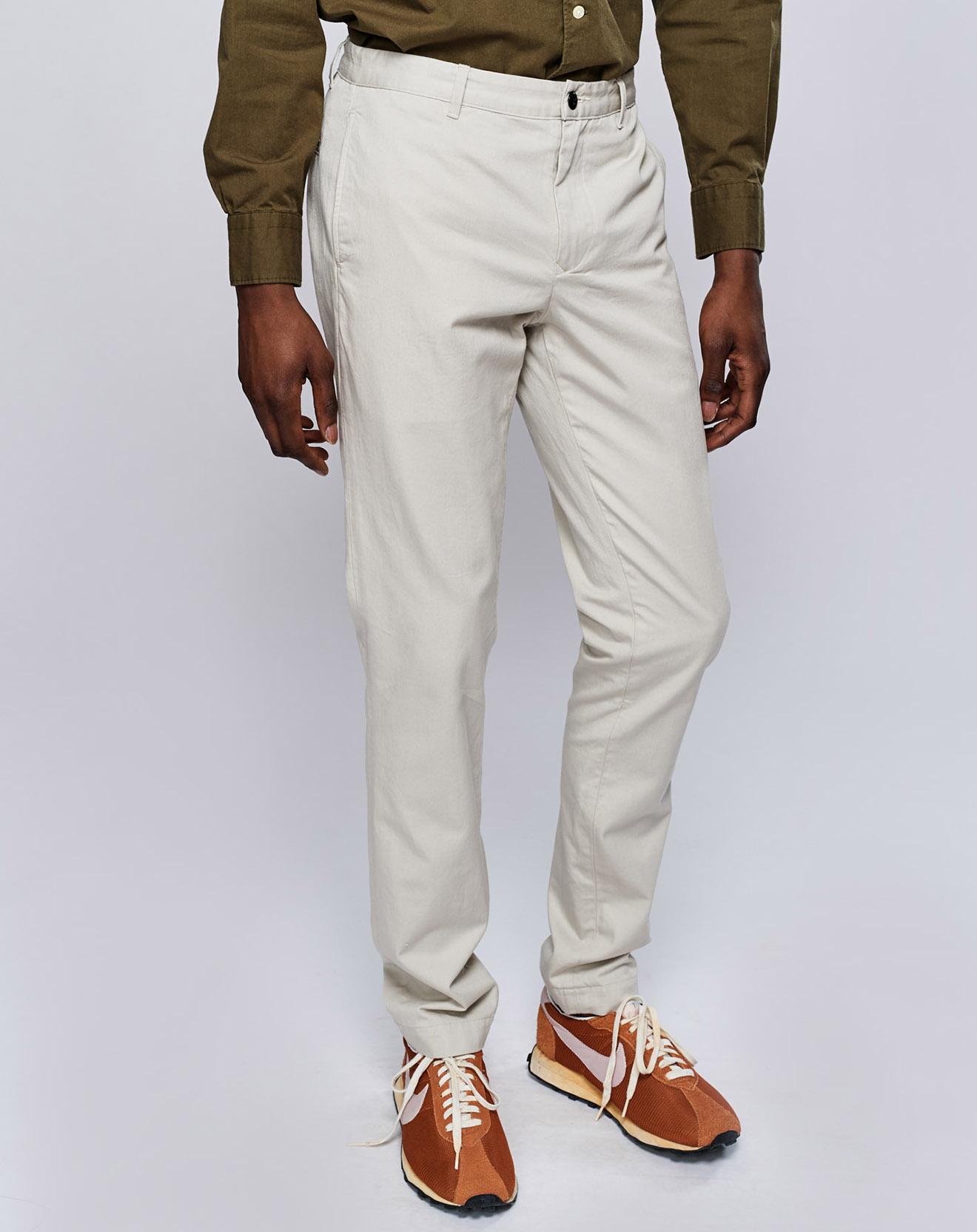 Pantalon Porth craie
