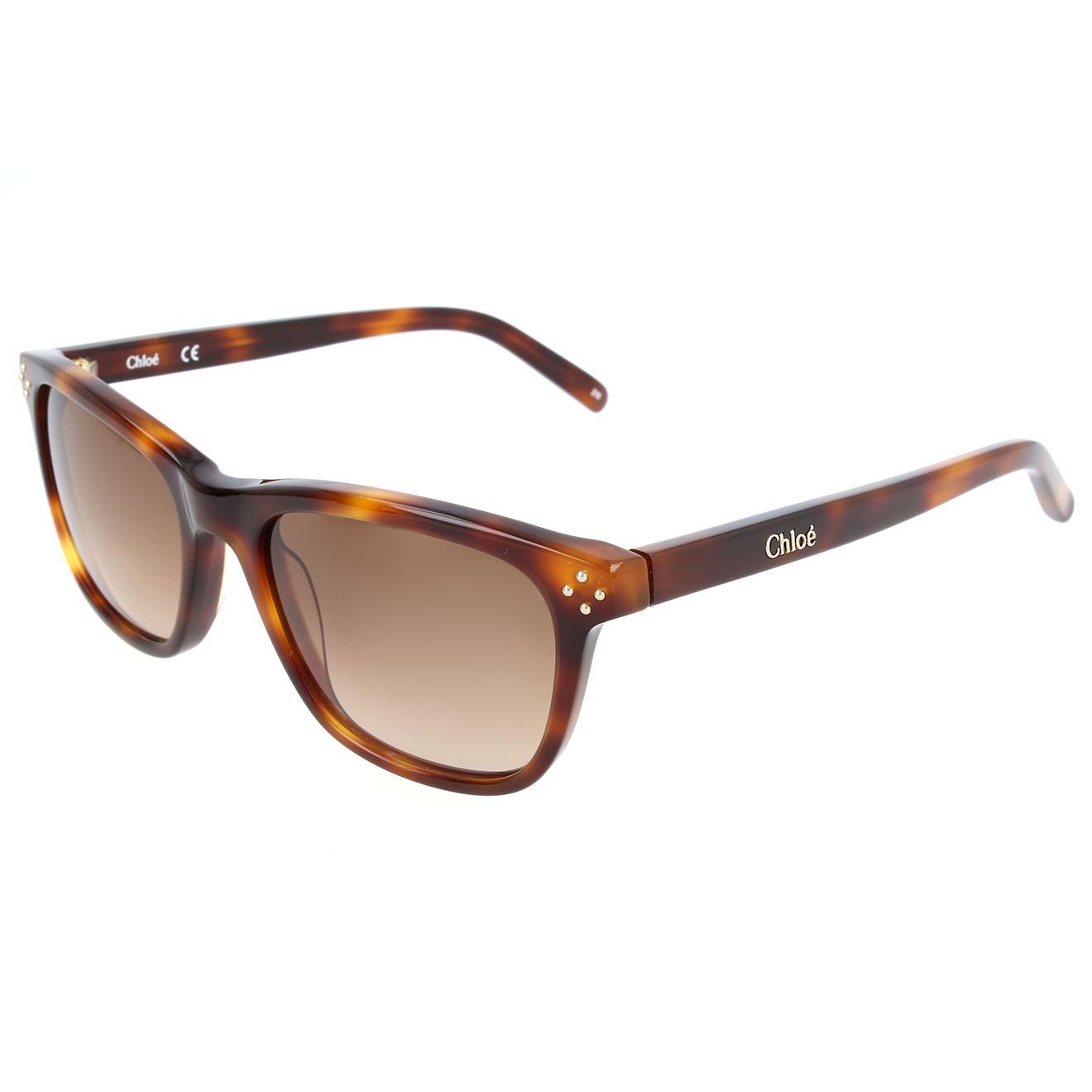 Chloé--lunettes de soleil enfant havana-t.u