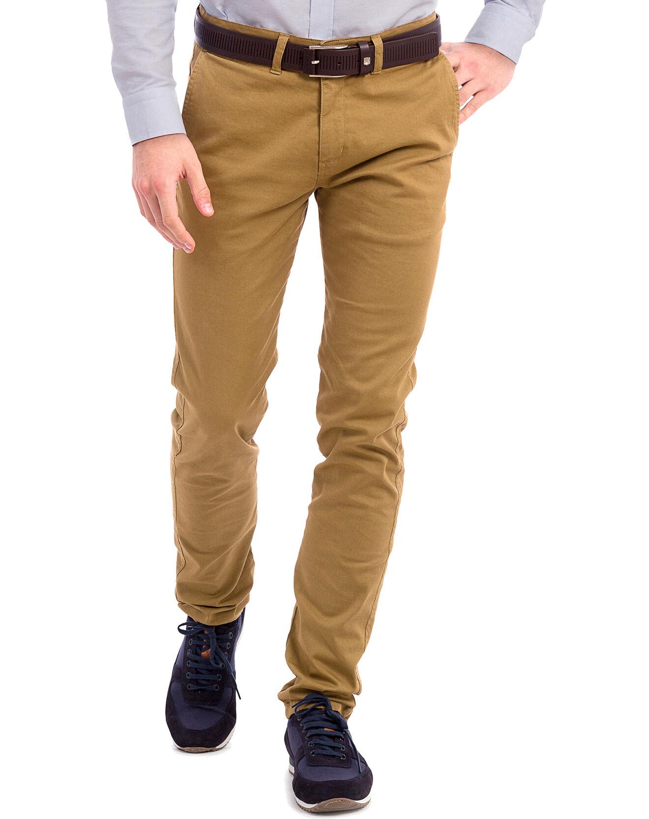 Pantalon Vincenzo camel