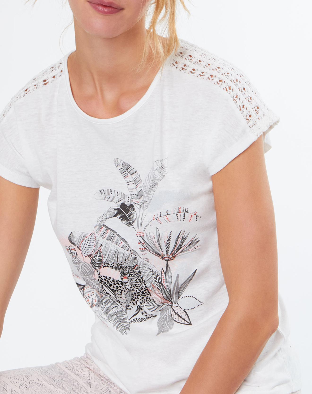 Haut de pyjama Roxane à motif - Etam - Modalova