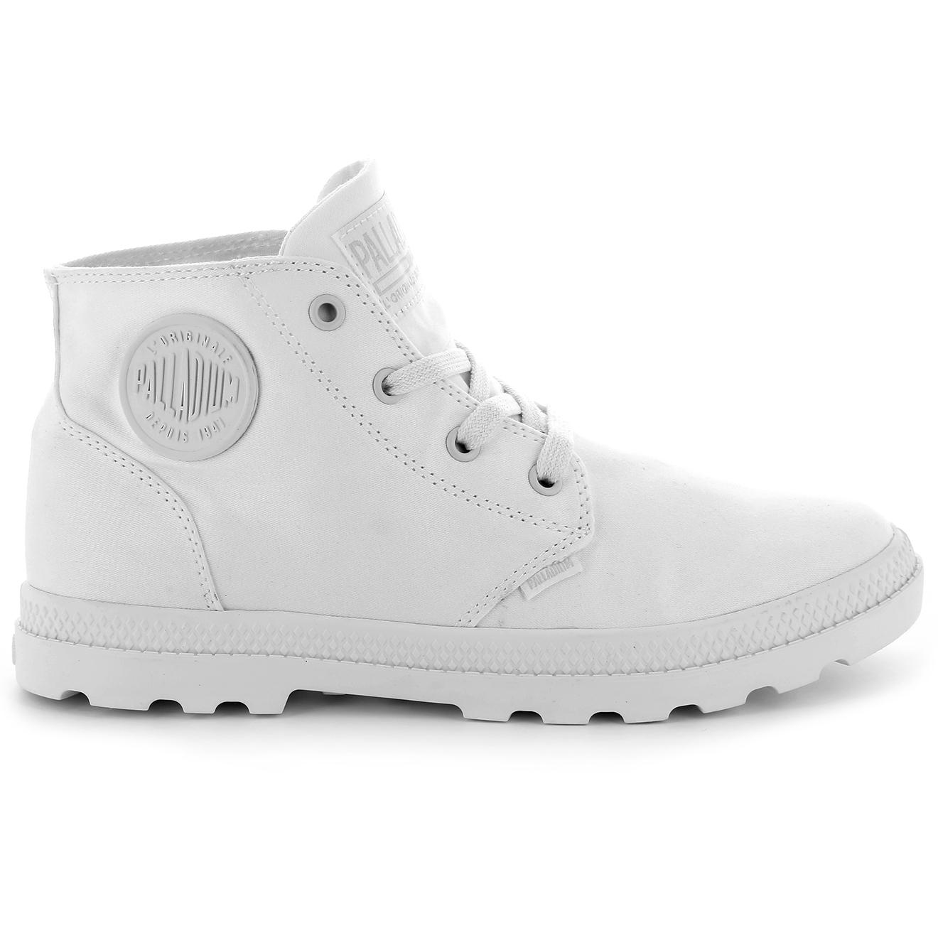Boots montantes en Toile Pampa Free blanches - Palladium - Modalova