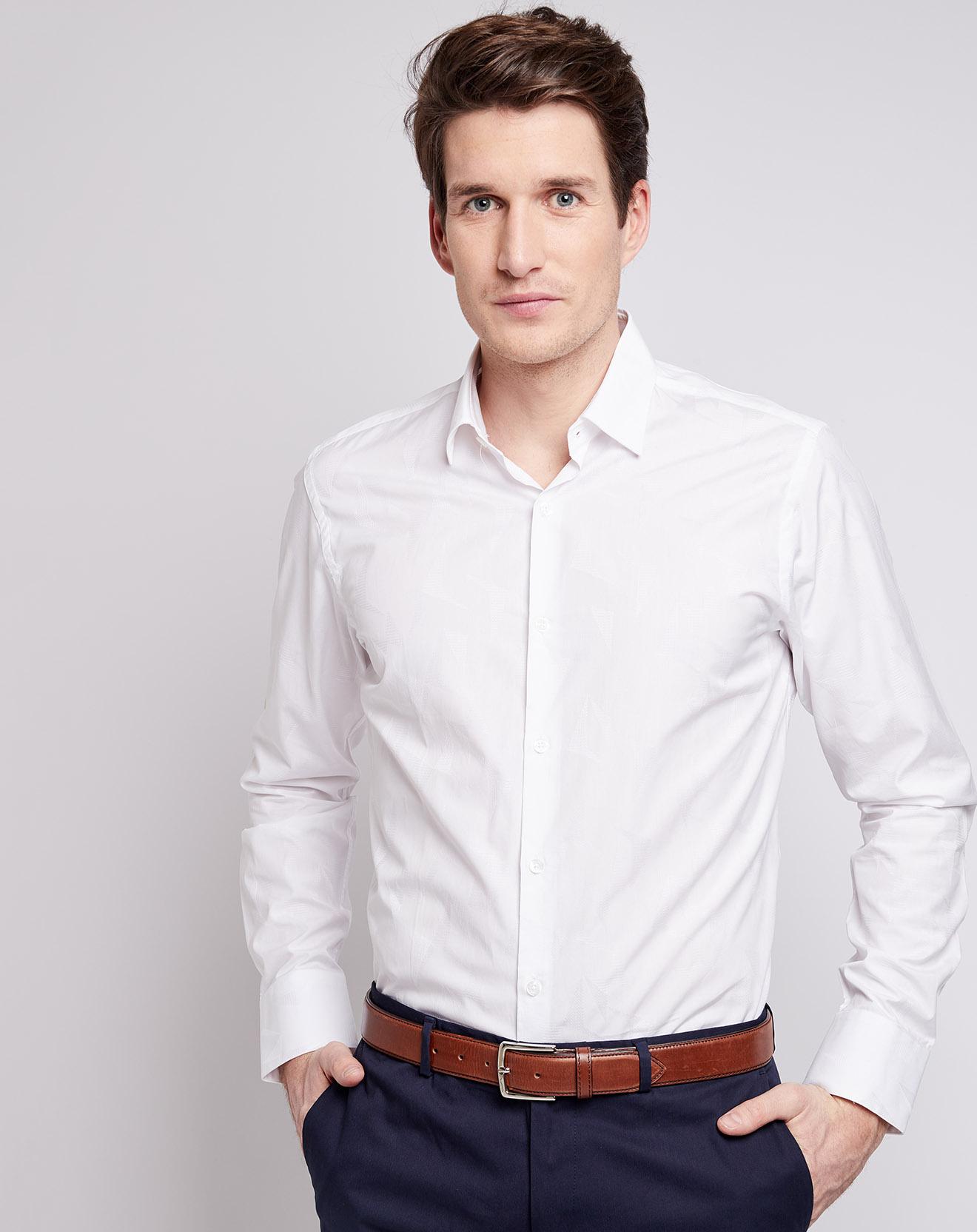 a212dbdc6c chemise blanche poignets classiques