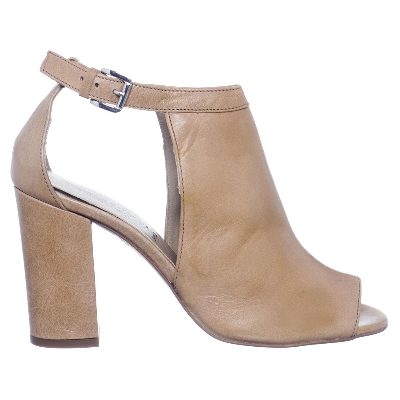Sandales en Cuir Victoire beiges - Talon 9 cm