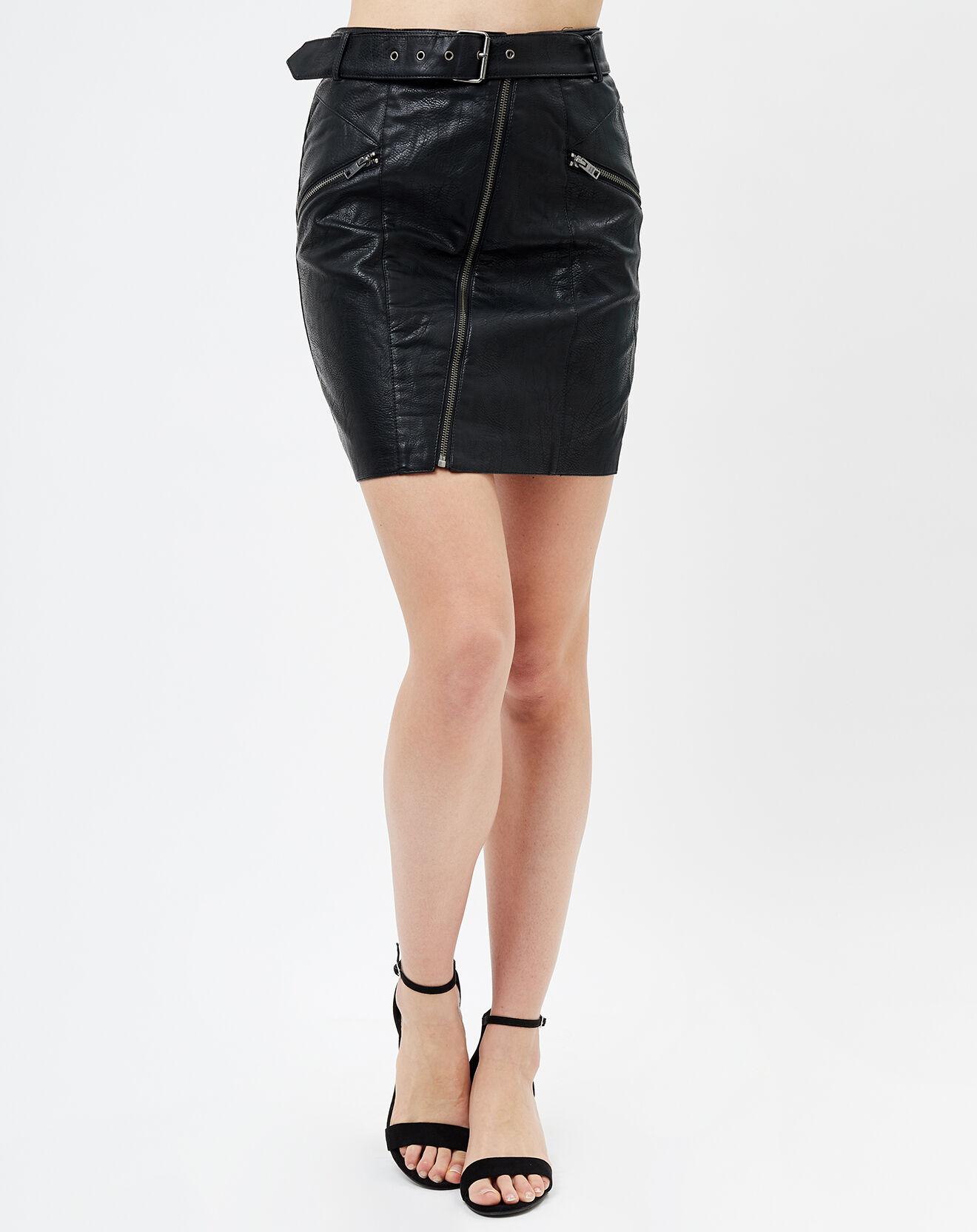 Jupe droite noire - Pepe Jeans - Modalova