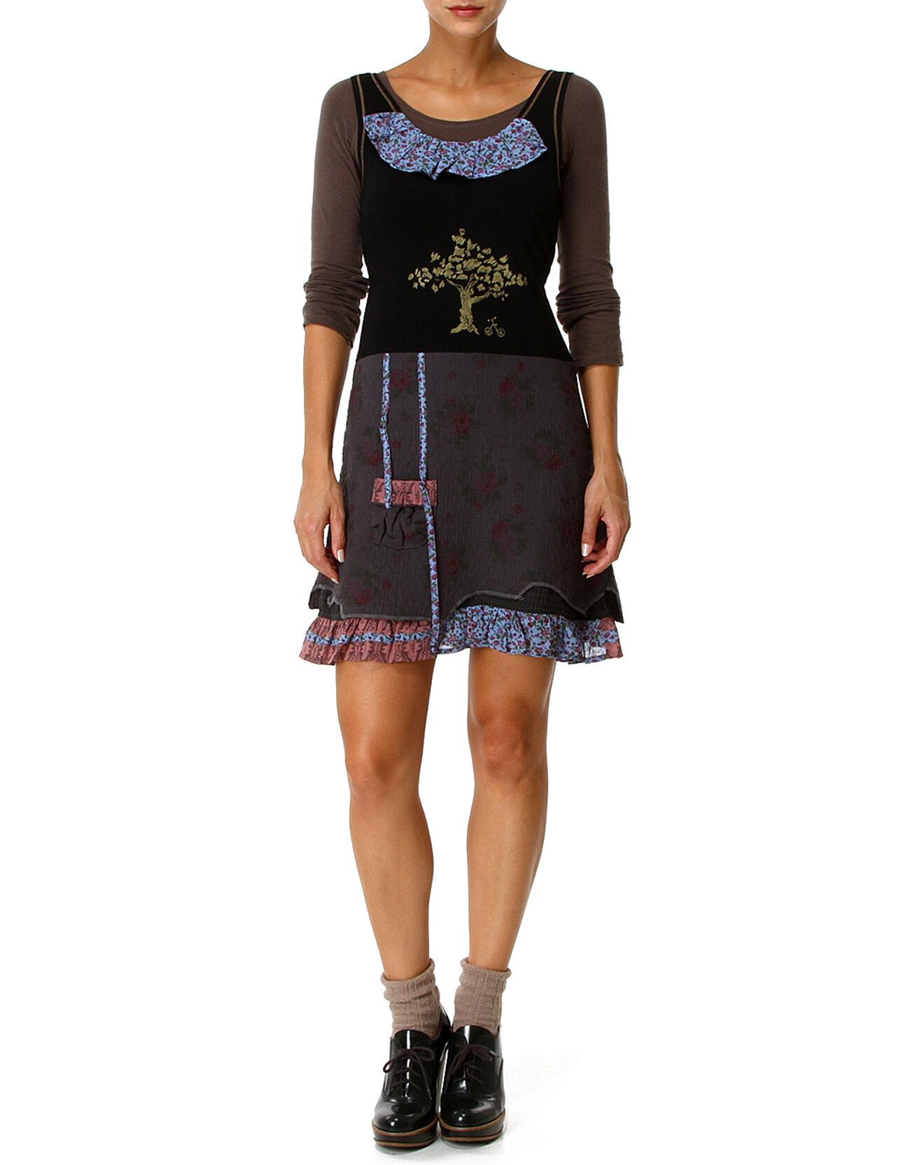 Robe seneca noire