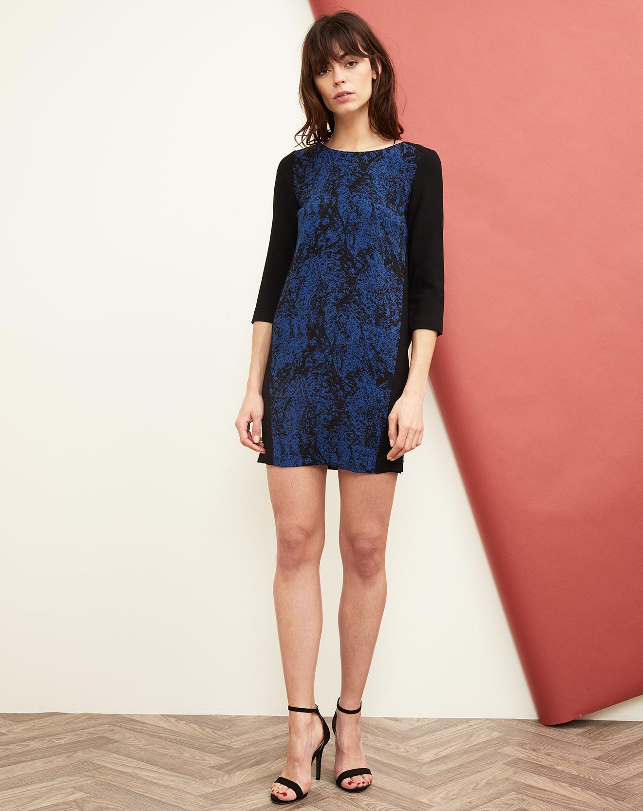 Robe broadway bleue