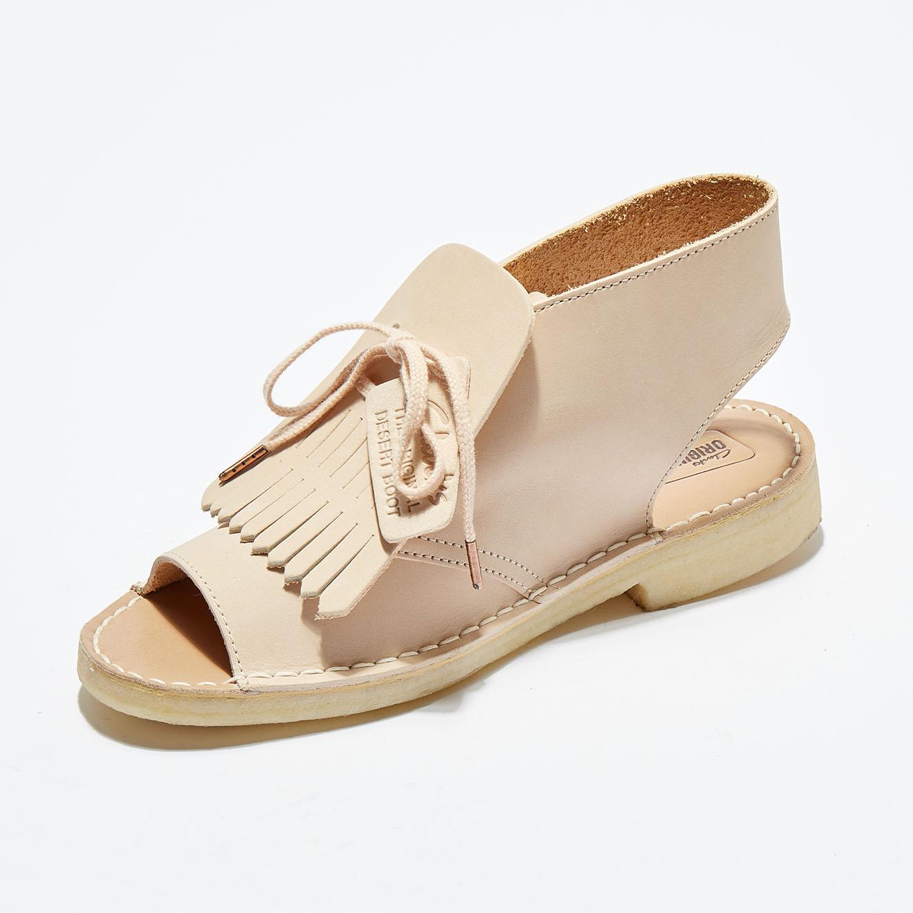 Sandales en Cuir Desert Kiltie - Clarks - Modalova