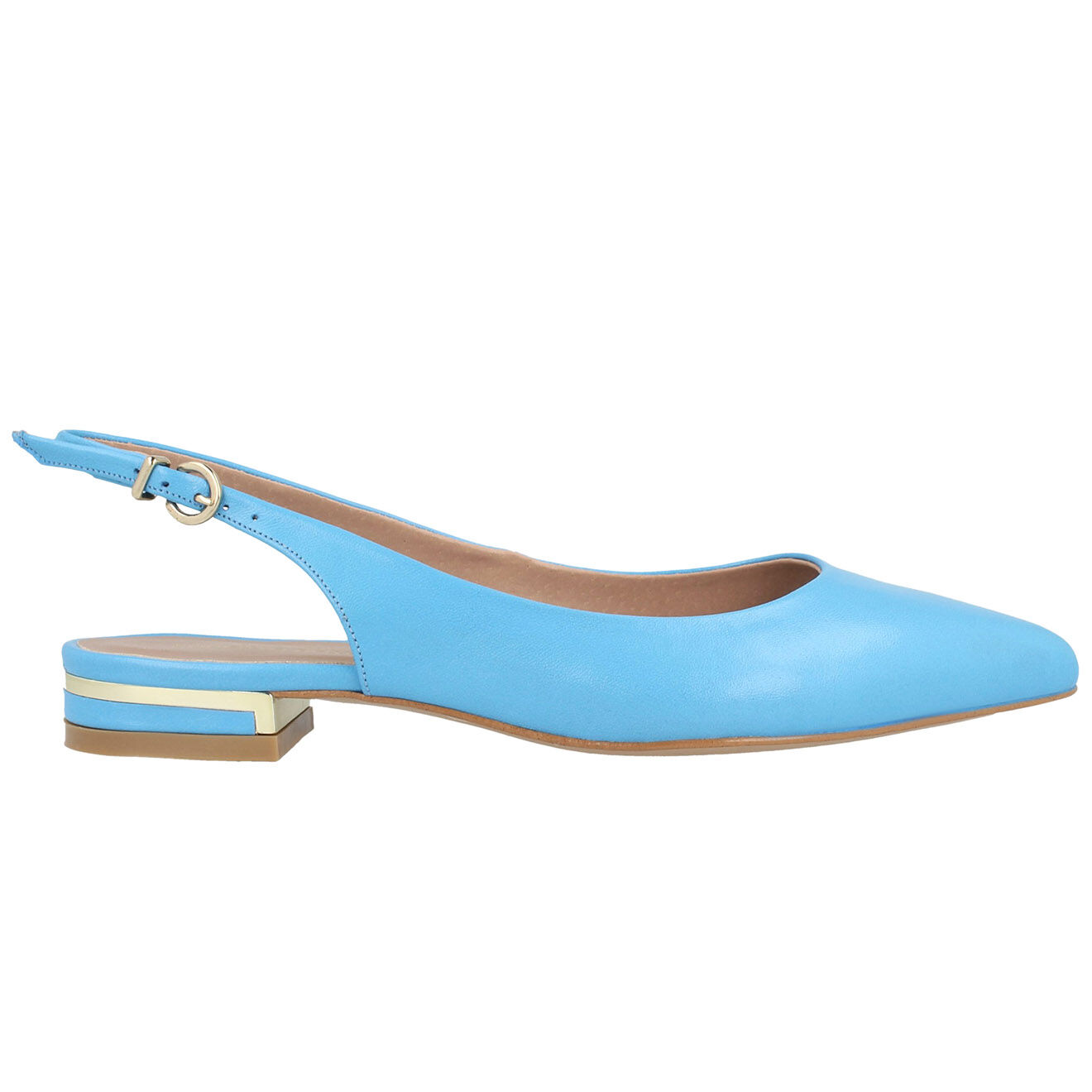 Sling-Back en Cuir Jade bleues - Roberto Botella - Modalova