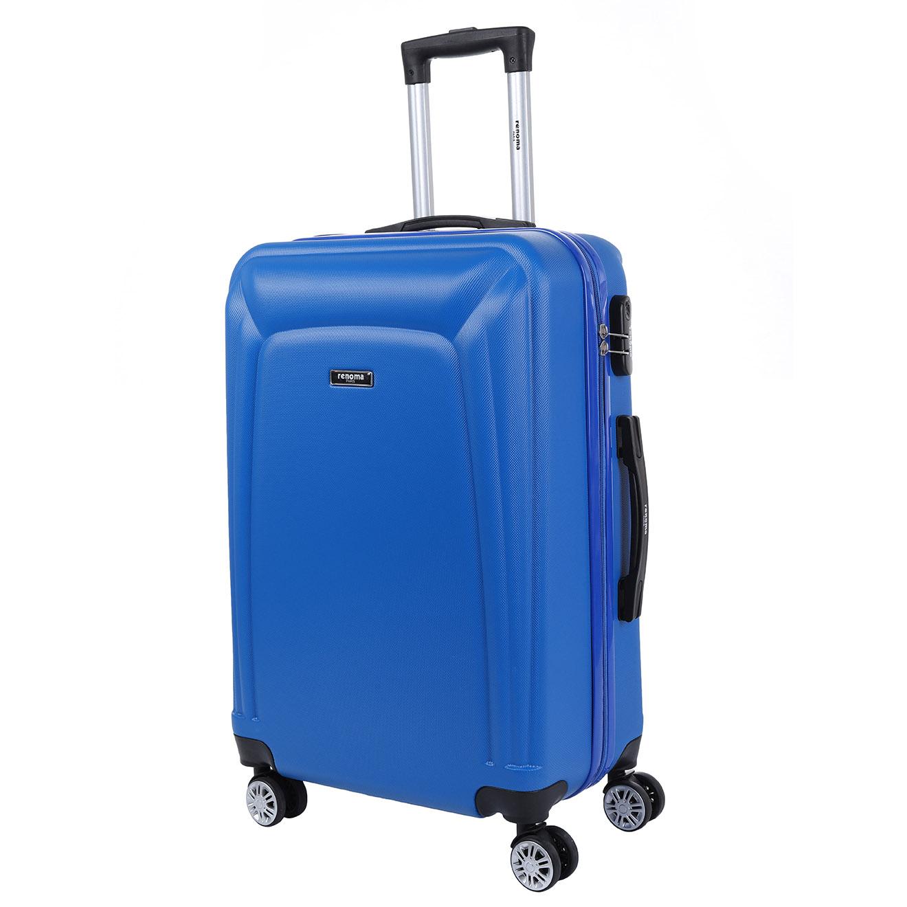 Valise Long Séjour 8 roues Firth 76 cm bleue