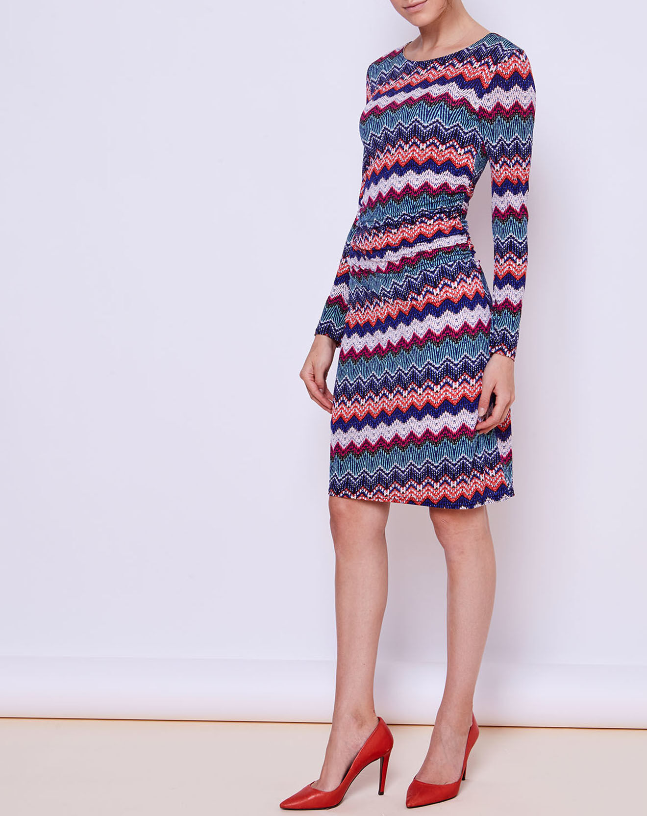 Robe Imma imprimée multicolore