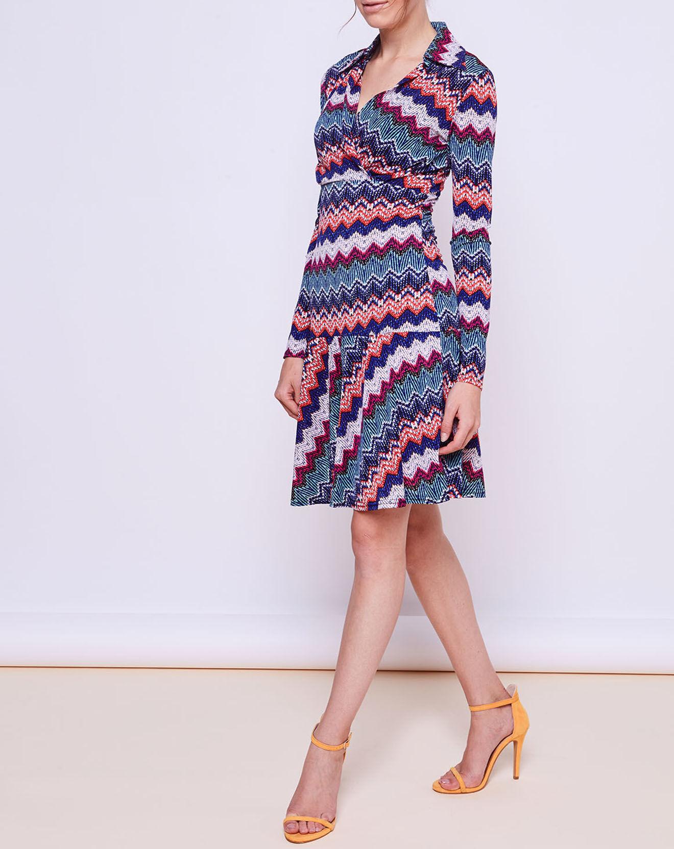 Robe Jermy imprimée multicolore