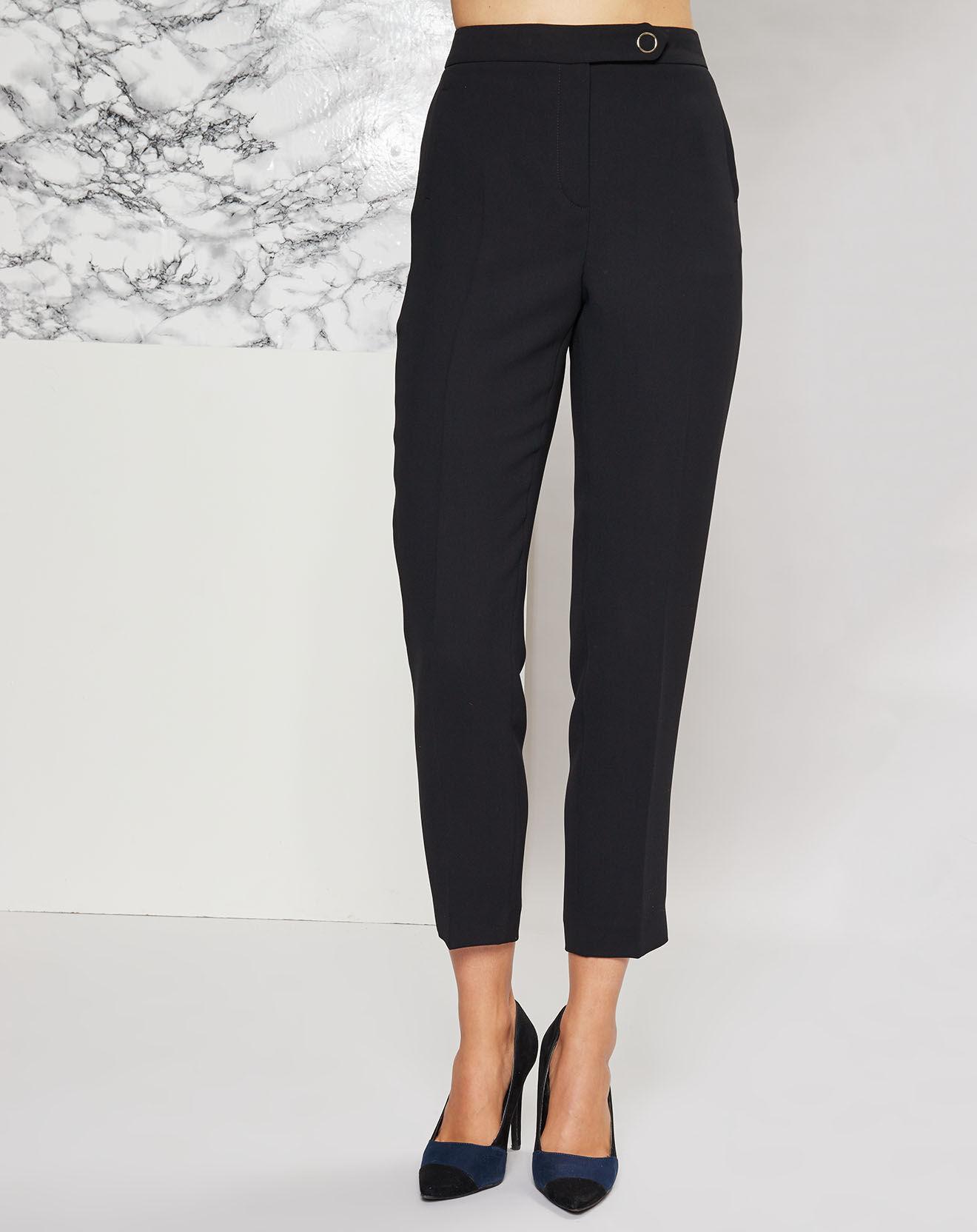 Pantalon à pinces Tamarin noir