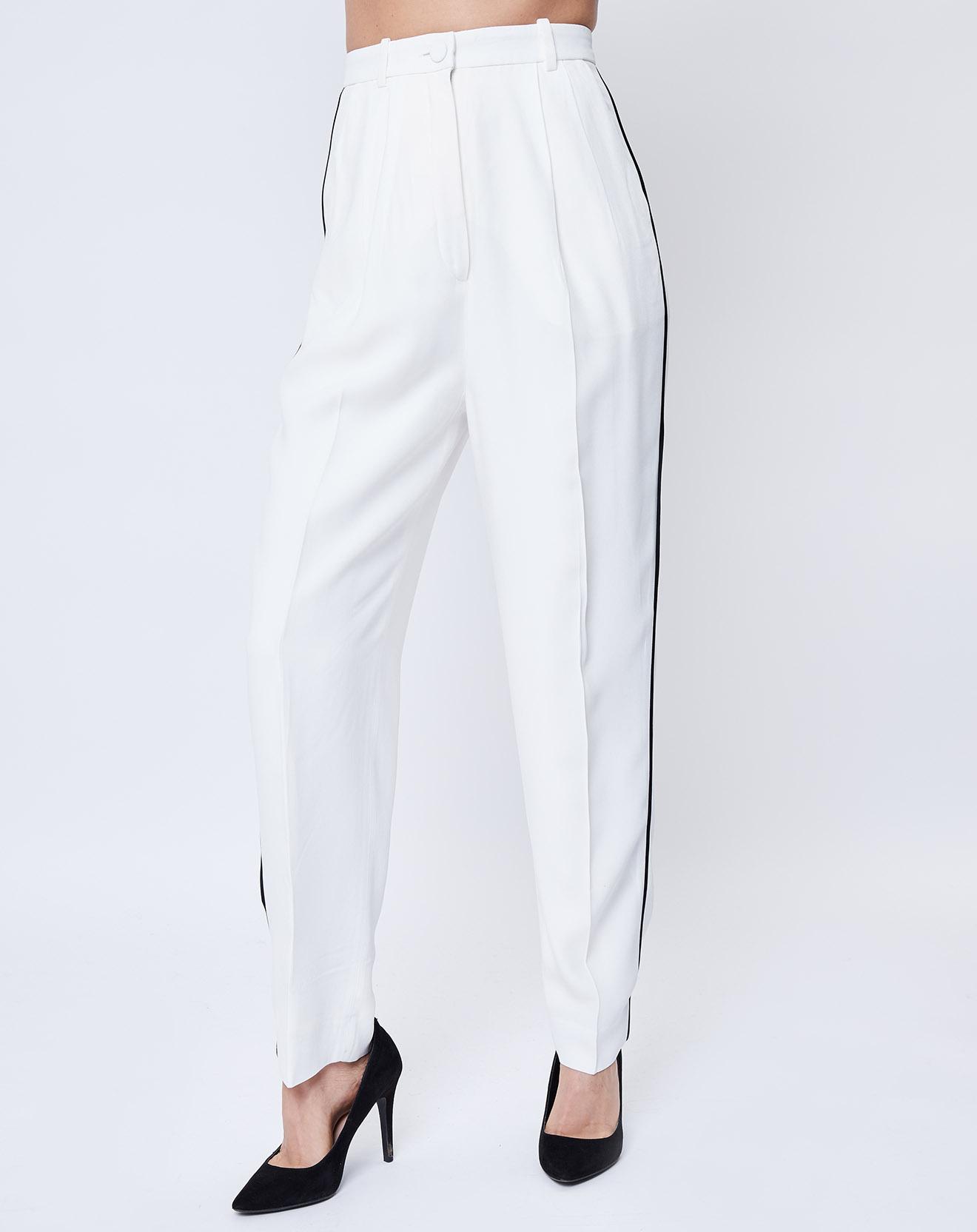 Pantalon droit écru - John Galliano - Modalova