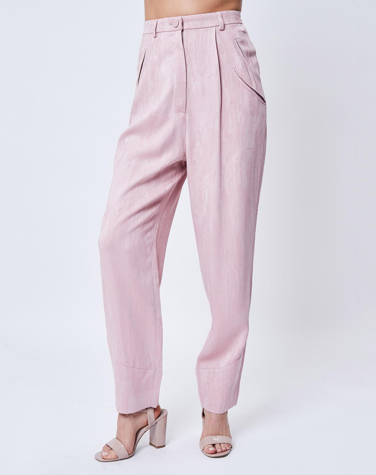 Pantalon fluide rose pâle - John Galliano - Modalova