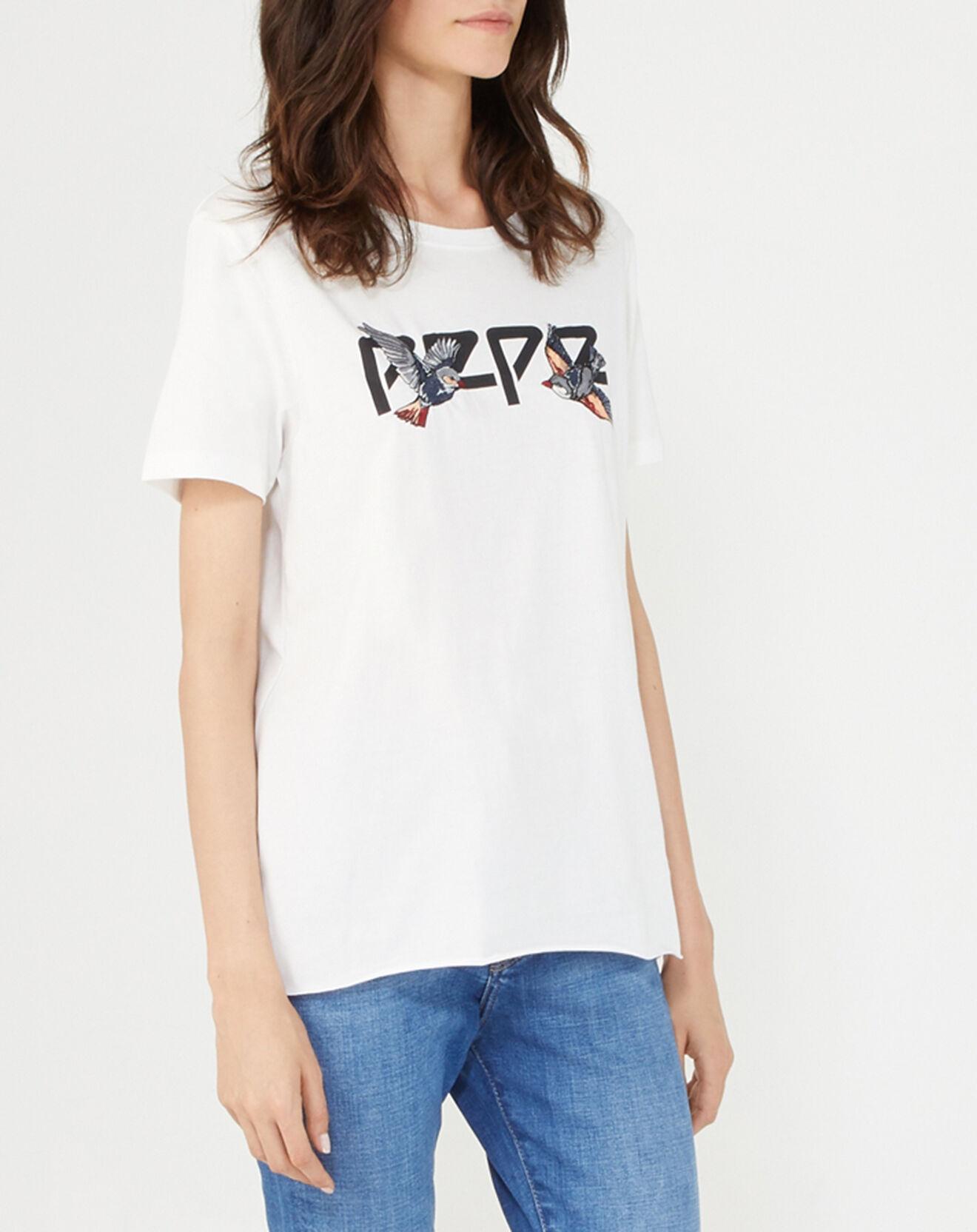 T-Shirt Diana blanc - Pepe Jeans - Modalova