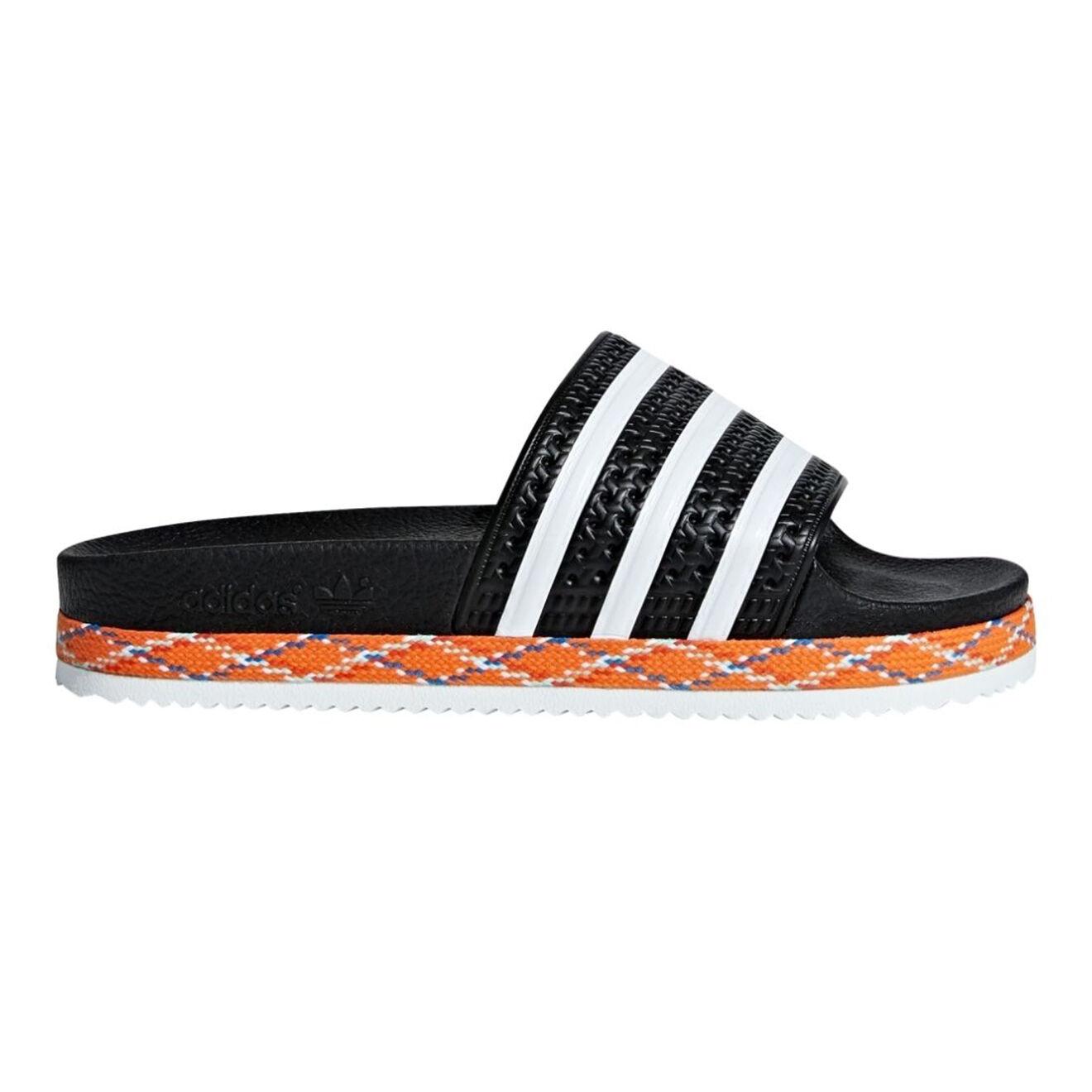 Sandales Adilette noir/blanc - Adidas - Modalova