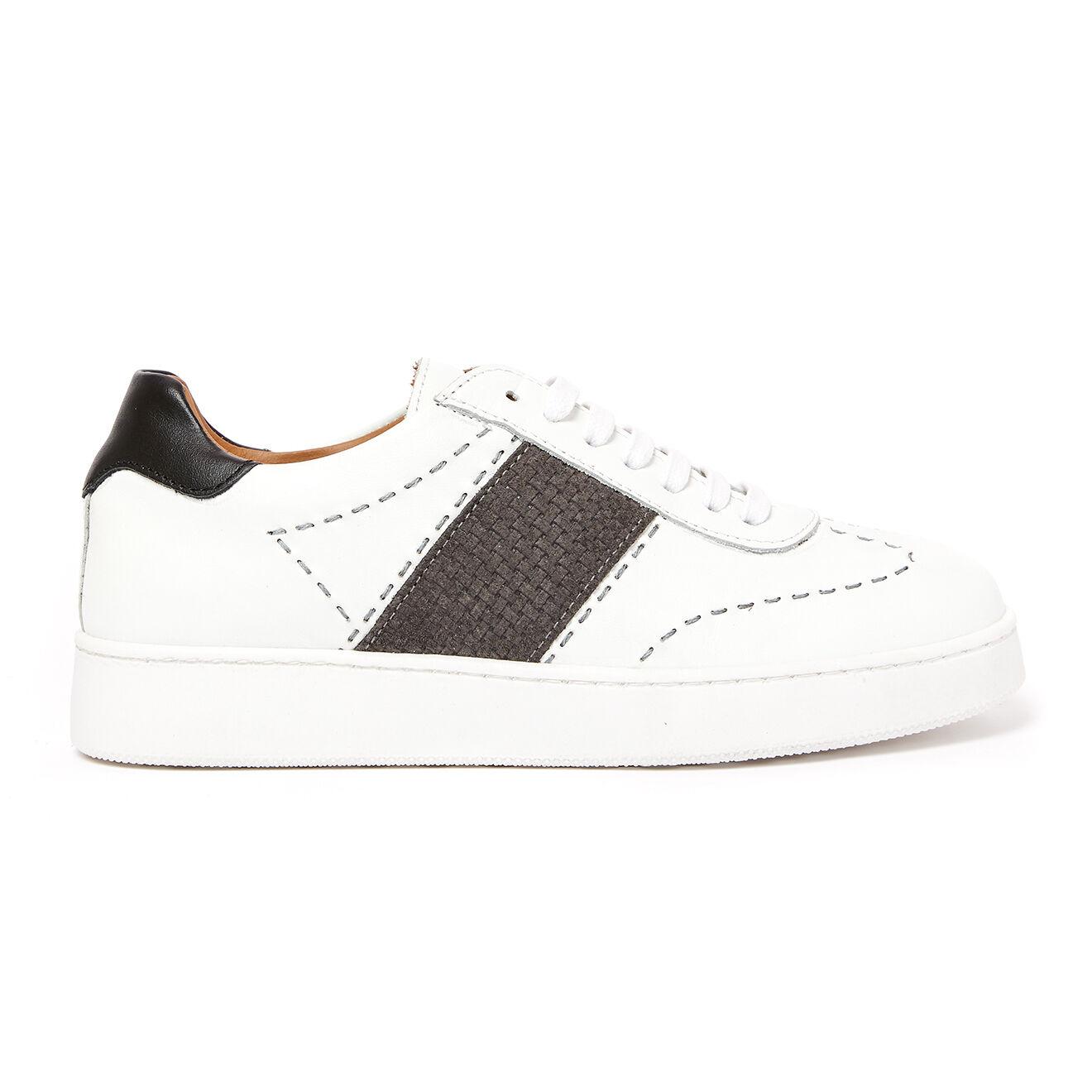 Sneakers en Cuir Naya blanches