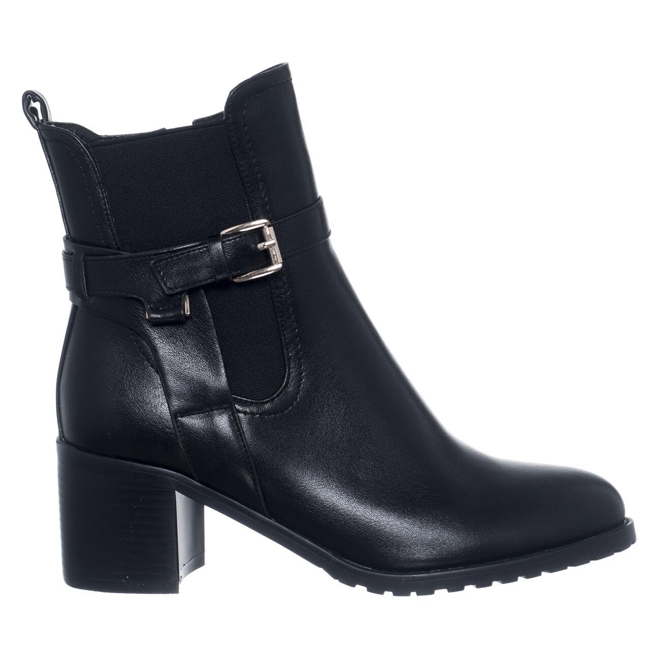 Chelsea boots Cassandre noires - Talon 6 cm - Loretta by Loretta - Modalova
