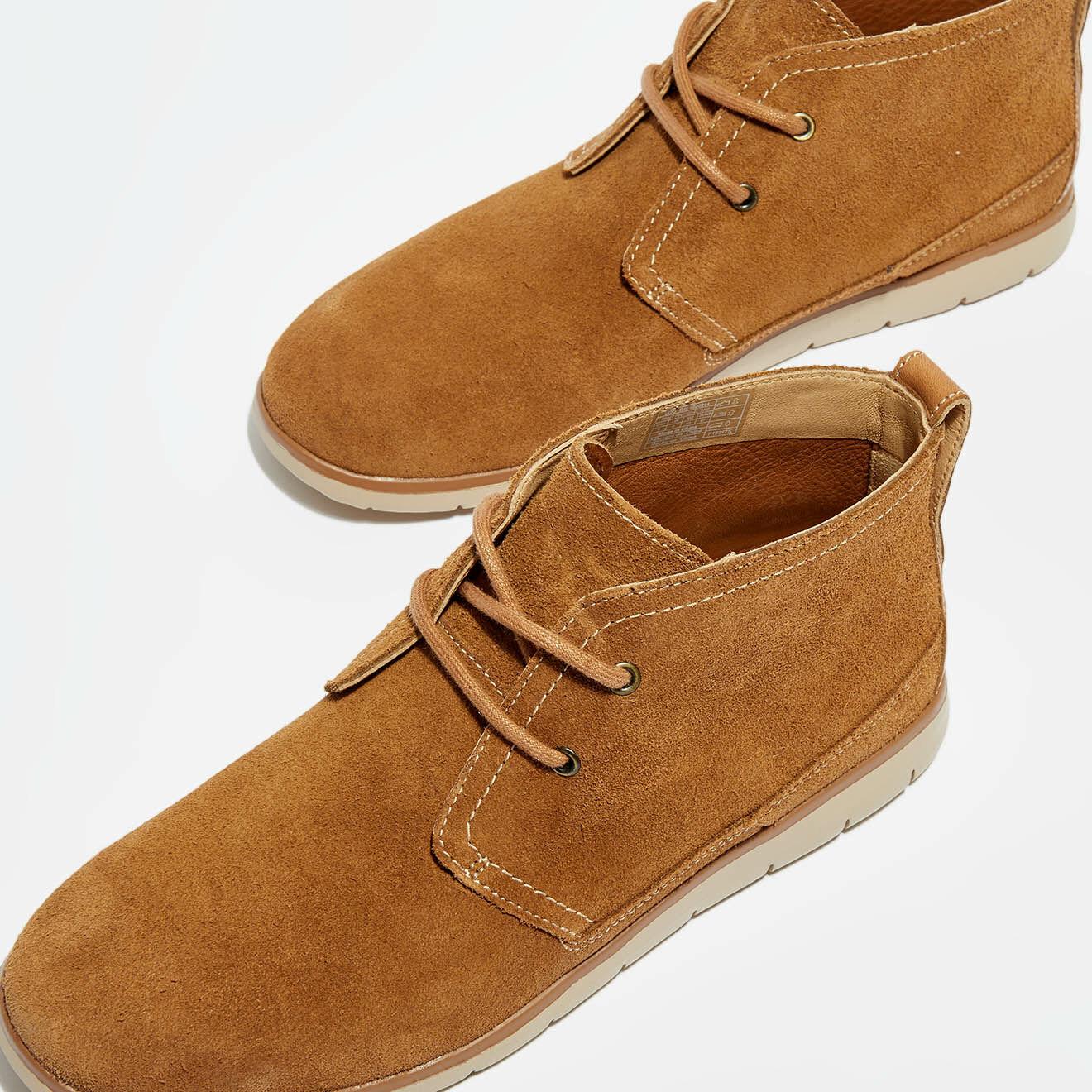 Chukka boots en Velours de Cuir Freamon cognac - Ugg - Modalova