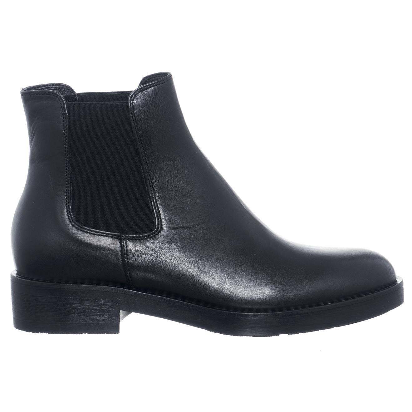 Chelsea Boots en Cuir Louise noires - Loretta by Loretta - Modalova
