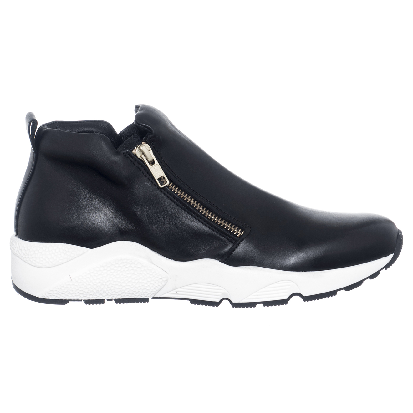 Sneakers en Cuir Olivia noires - Loretta Pettinari - Modalova